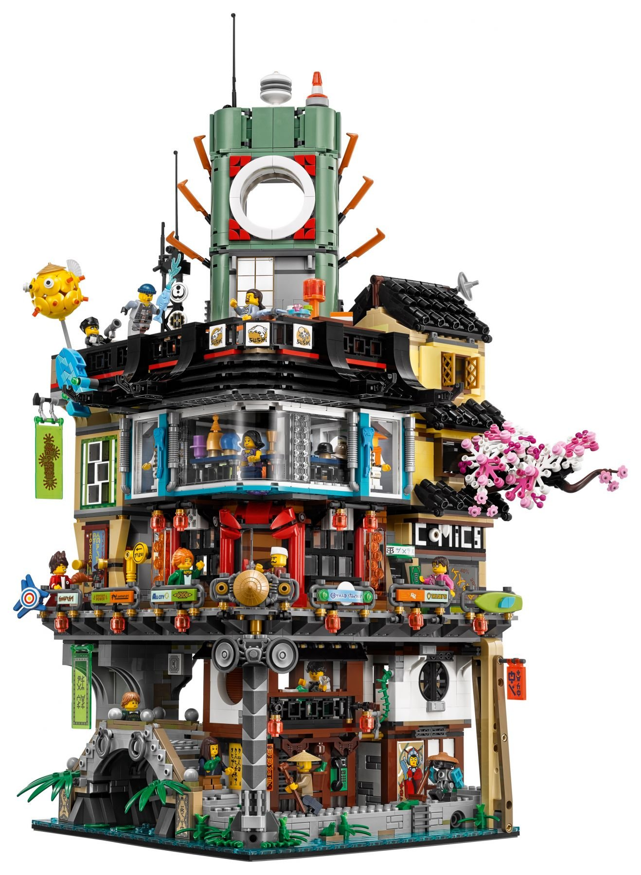 LEGO The LEGO Ninjago Movie 70620 Ninjago City LEGO_70620_alt2.jpg