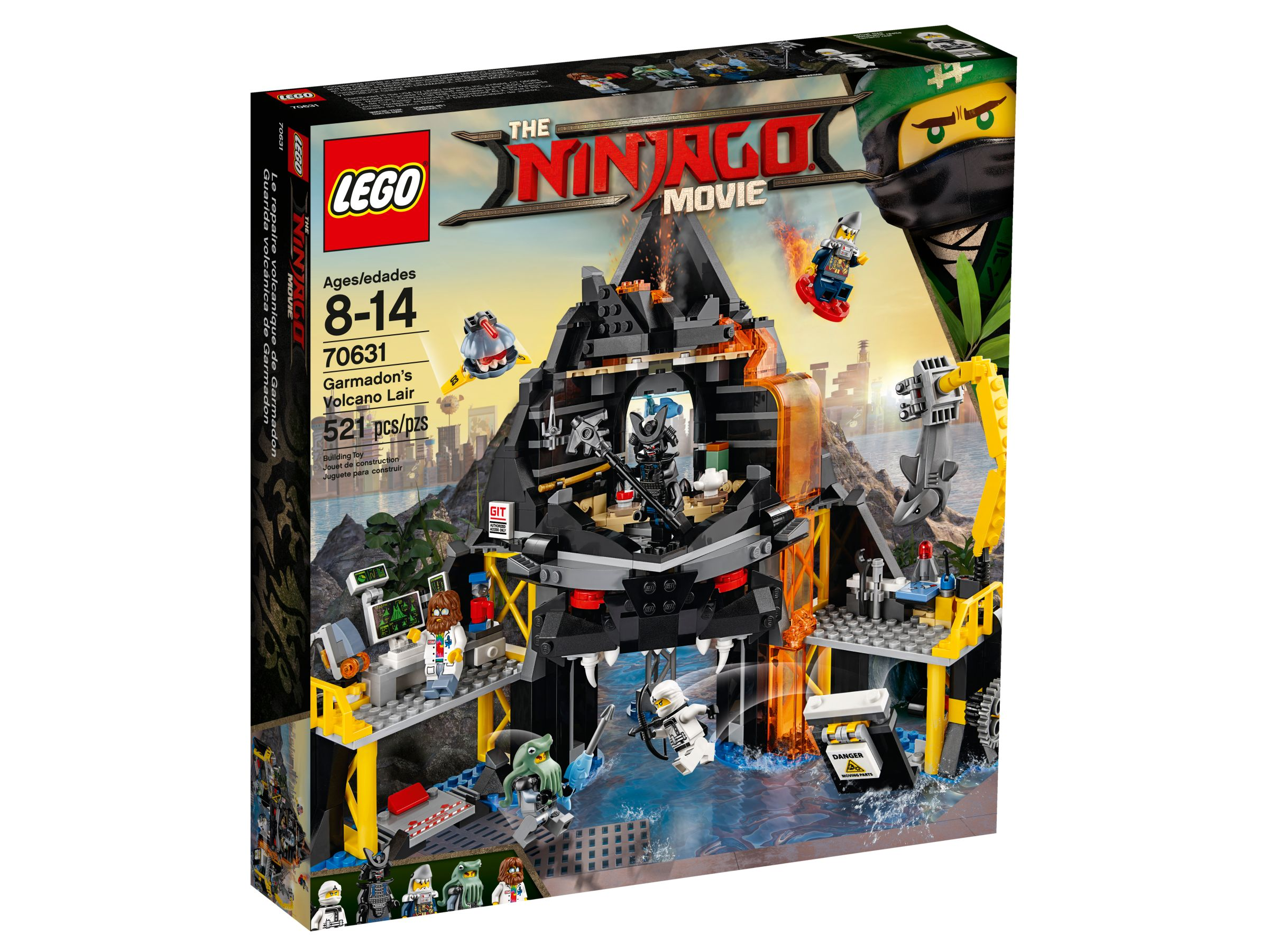 LEGO The LEGO Ninjago Movie 70631 Garmadons Vulkanversteck LEGO_70631_alt1.jpg