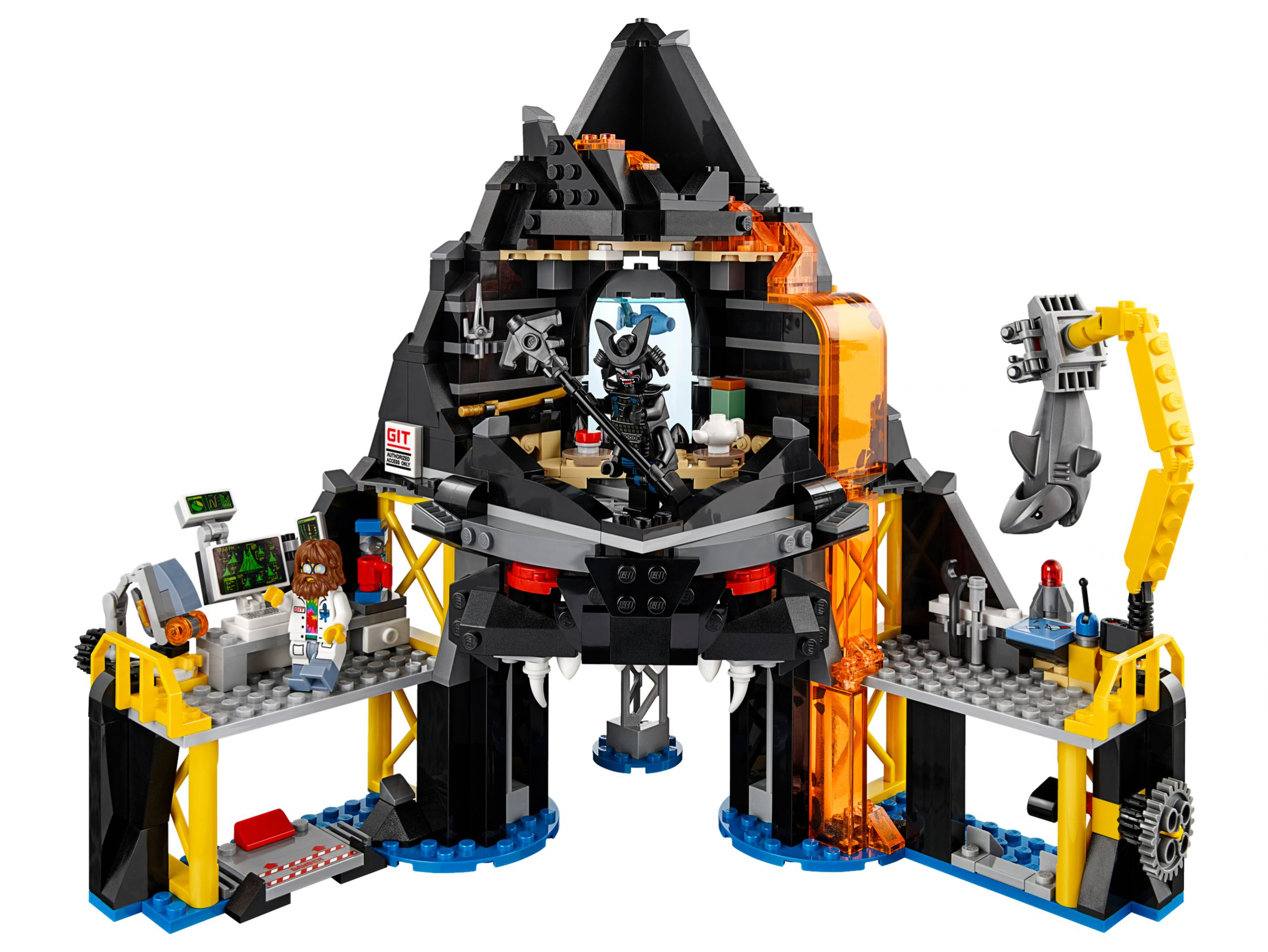 LEGO The LEGO Ninjago Movie 70631 Garmadons Vulkanversteck LEGO_70631_alt2.jpg