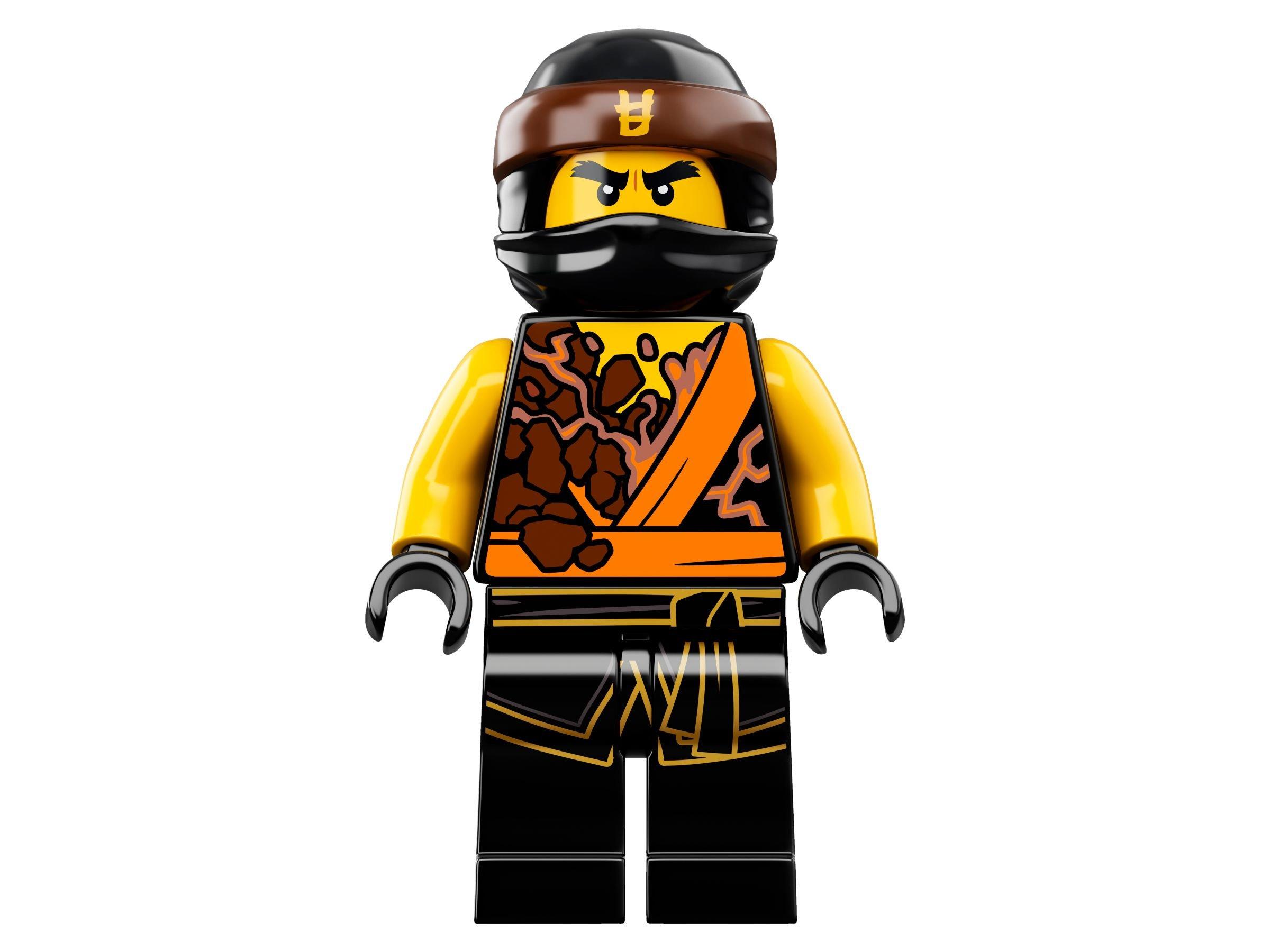 Lego Ninjago 70637 Spinjitzu Meister Cole 2018 Cole Spinjitzu Master