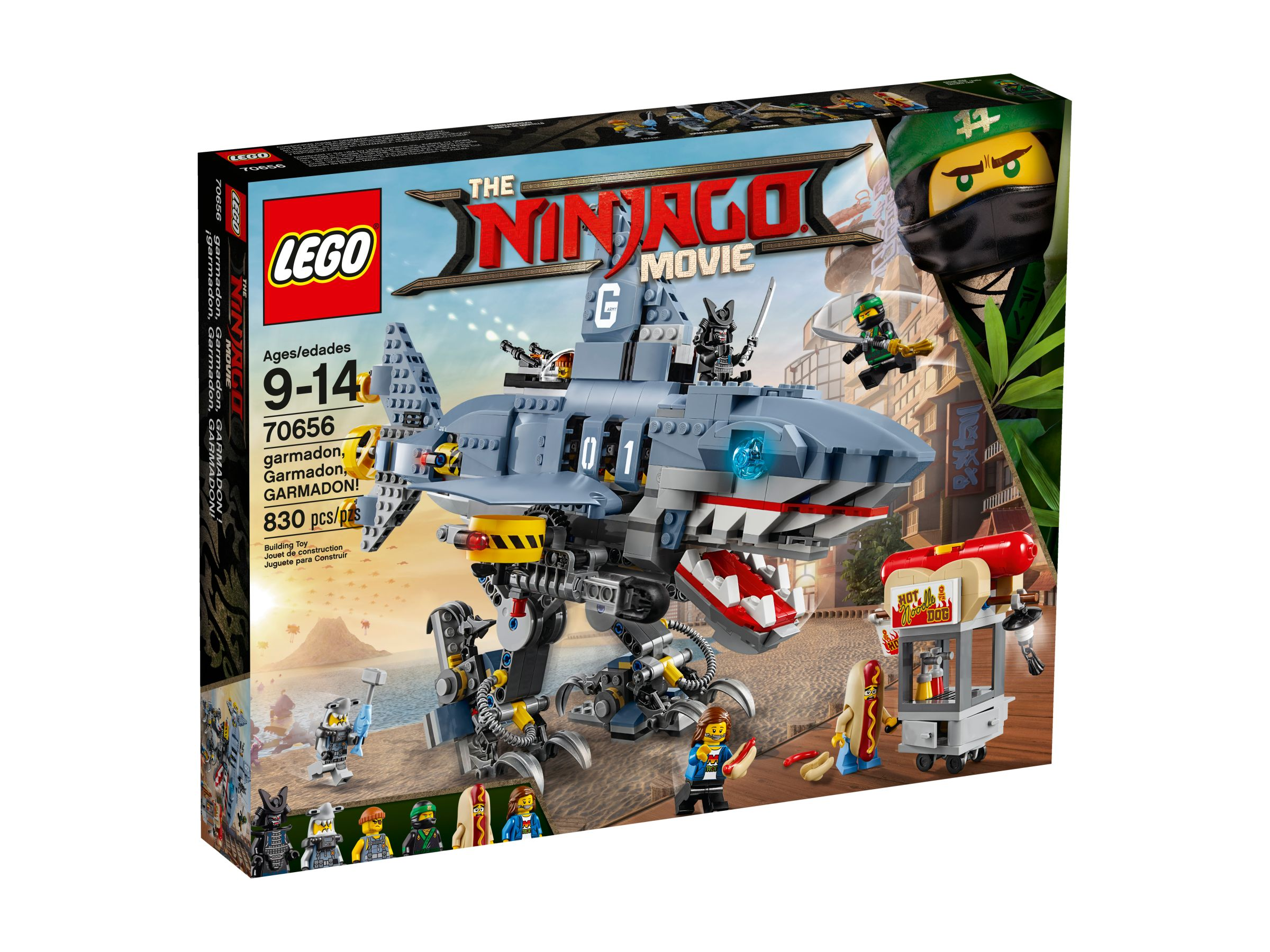 LEGO The LEGO Ninjago Movie 70656 Garmadon, Garmadon, GARMADON! LEGO_70656_alt1.jpg