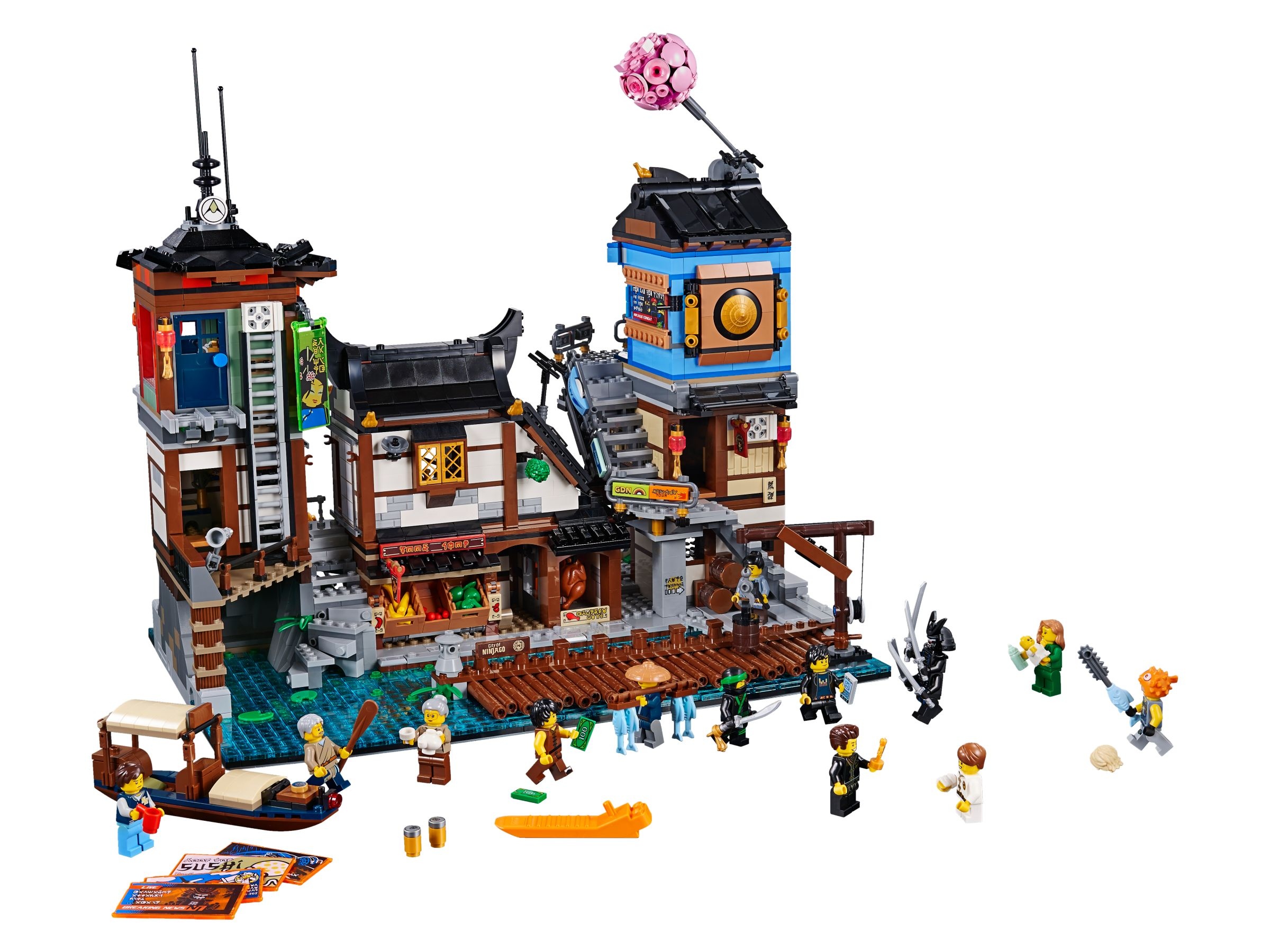 LEGO The LEGO Ninjago Movie 70657 Ninjago City Hafen LEGO_70657.jpg