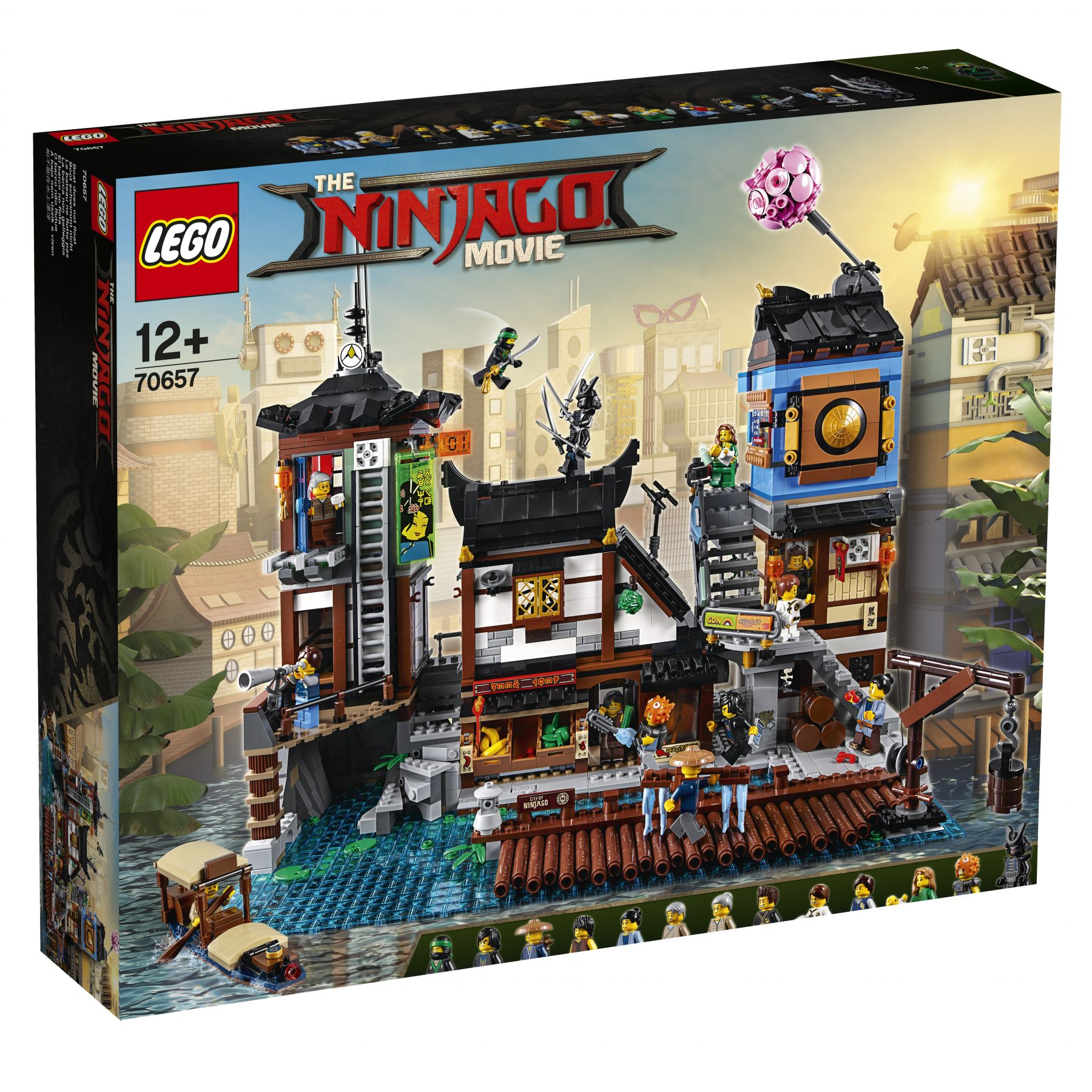 LEGO The LEGO Ninjago Movie 70657 Ninjago City Hafen LEGO_70657_NINJAGO_City_Docks.jpg