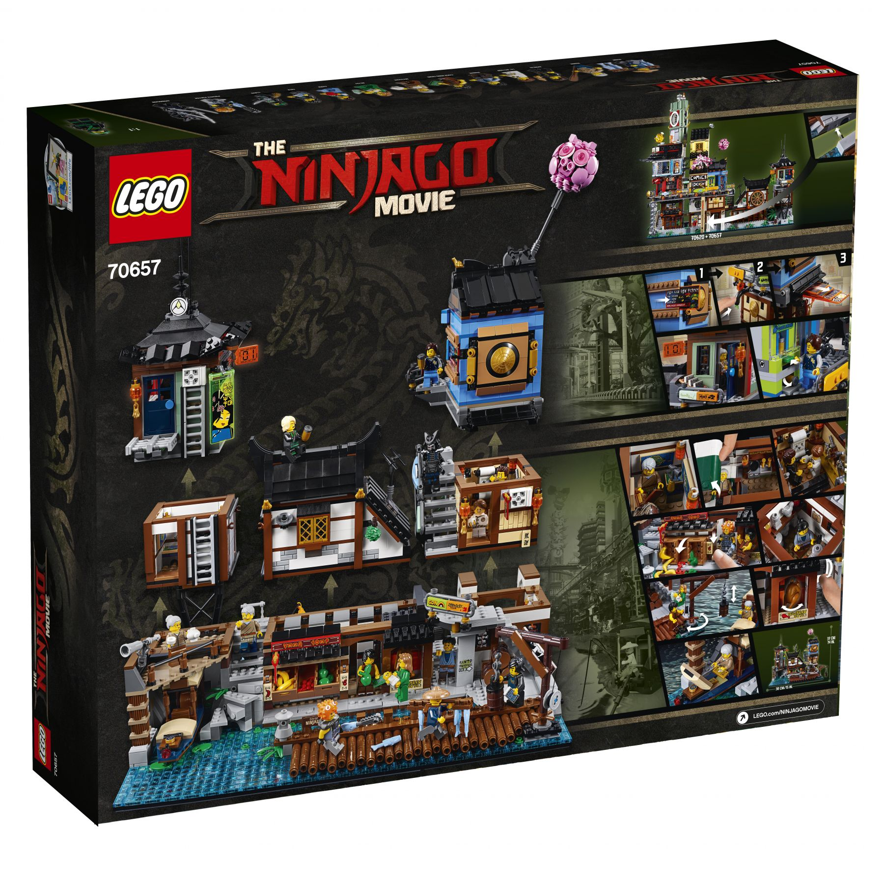 LEGO The LEGO Ninjago Movie 70657 Ninjago City Hafen LEGO_70657_Ninjago_City_Hafen_box_back.jpg