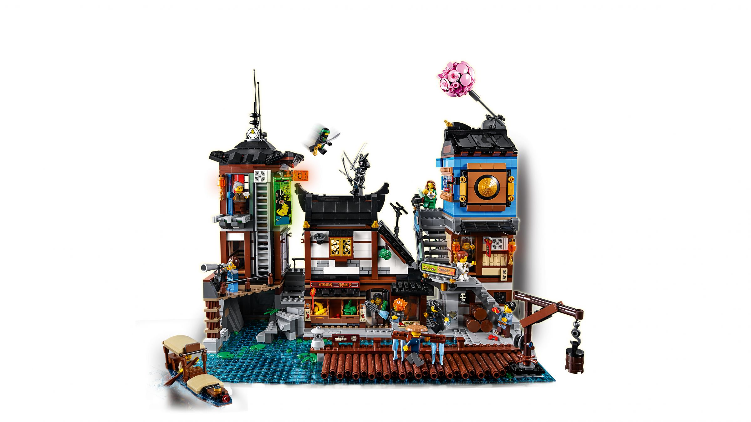 LEGO The LEGO Ninjago Movie 70657 Ninjago City Hafen LEGO_70657_Ninjago_City_Hafen_img04.jpg