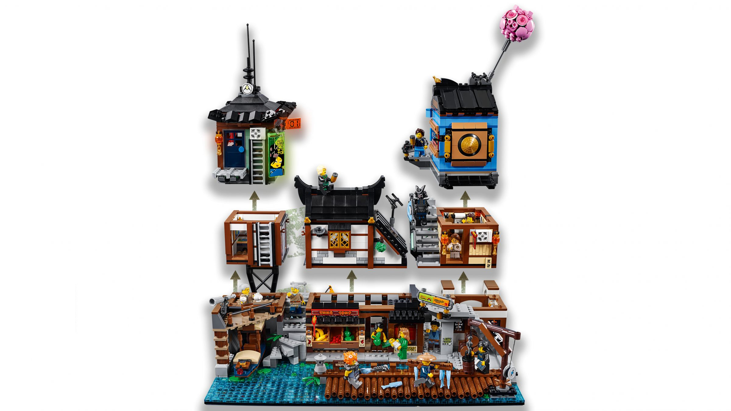 LEGO The LEGO Ninjago Movie 70657 Ninjago City Hafen LEGO_70657_Ninjago_City_Hafen_img05.jpg