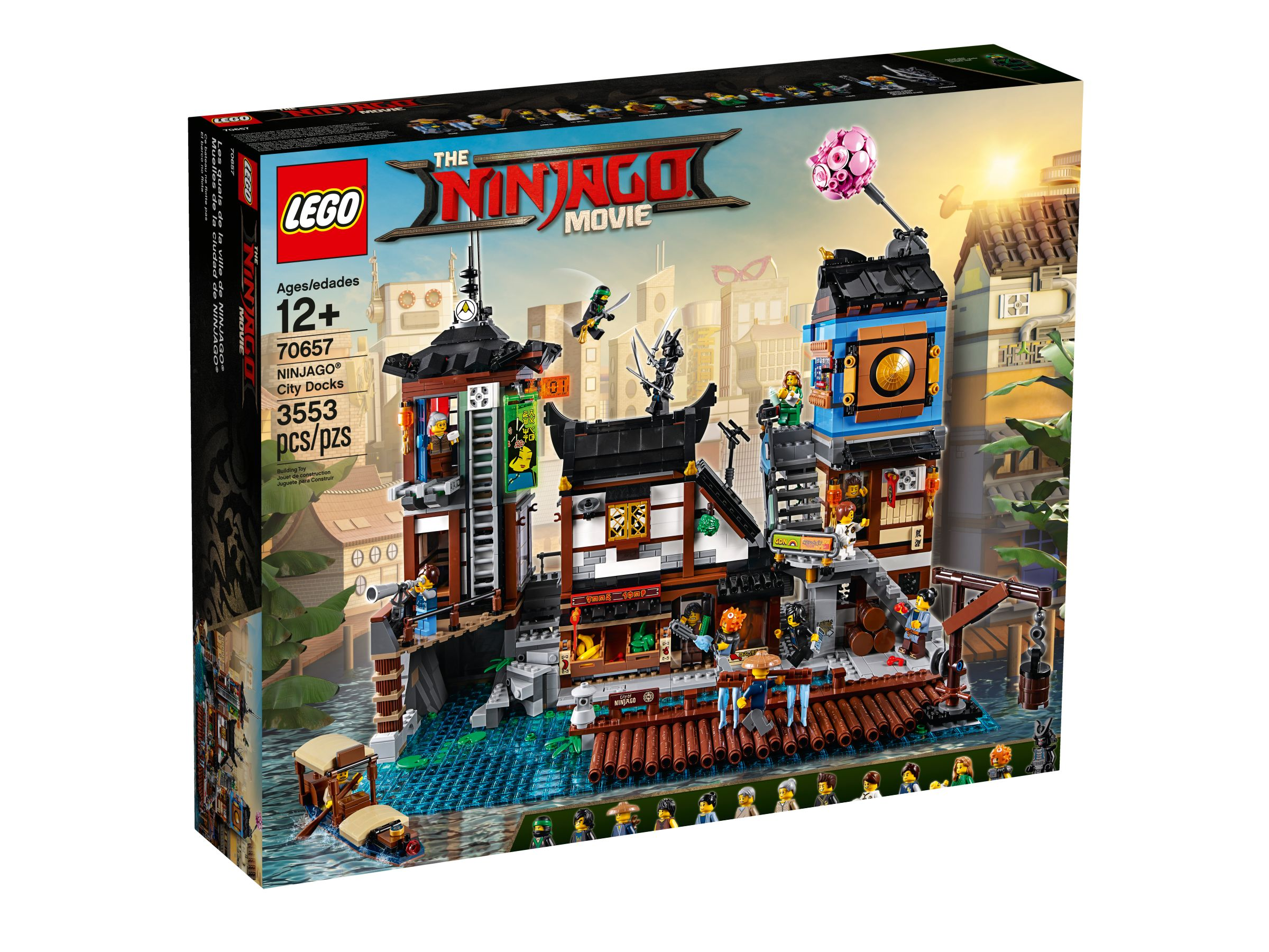 LEGO The LEGO Ninjago Movie 70657 Ninjago City Hafen LEGO_70657_alt1.jpg