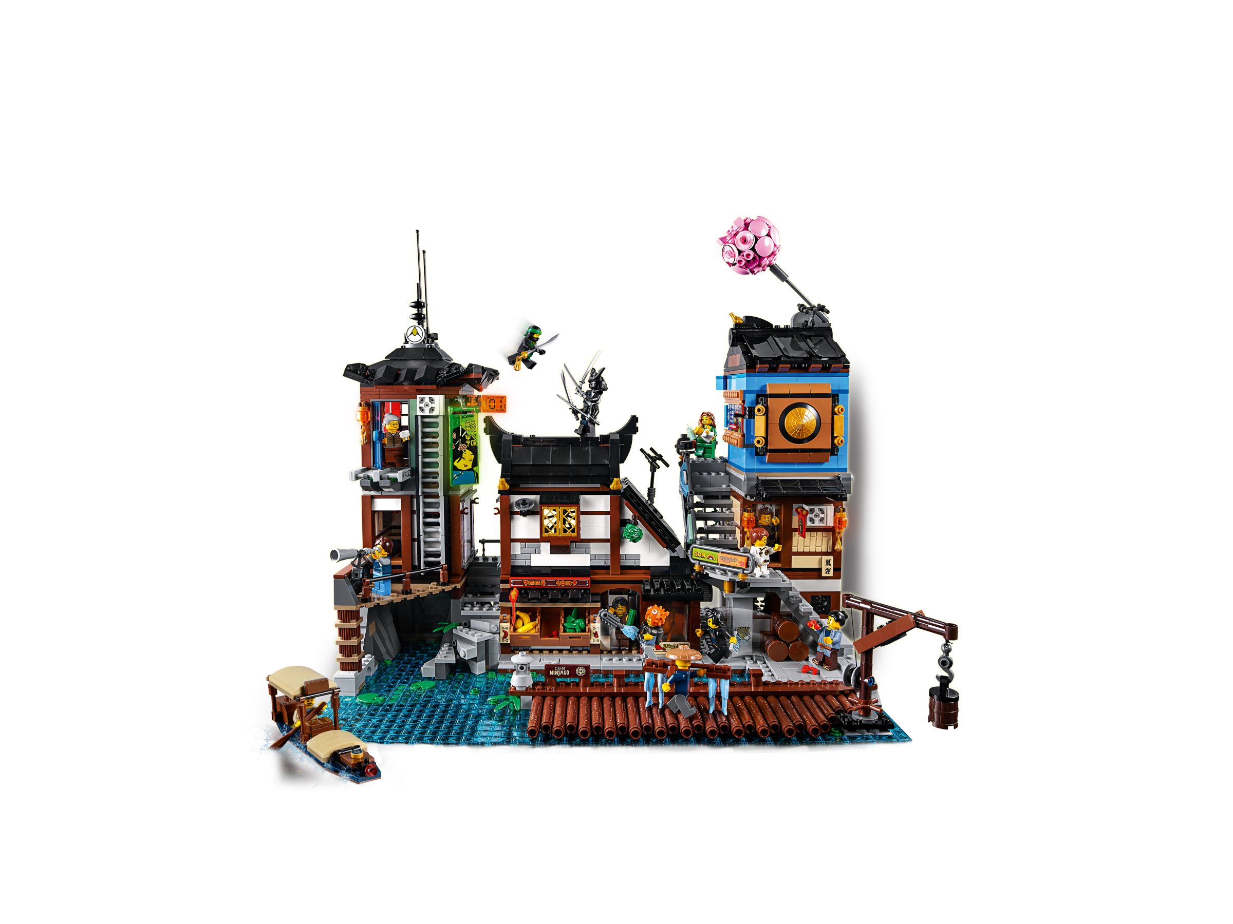 LEGO The LEGO Ninjago Movie 70657 Ninjago City Hafen LEGO_70657_alt2.jpg