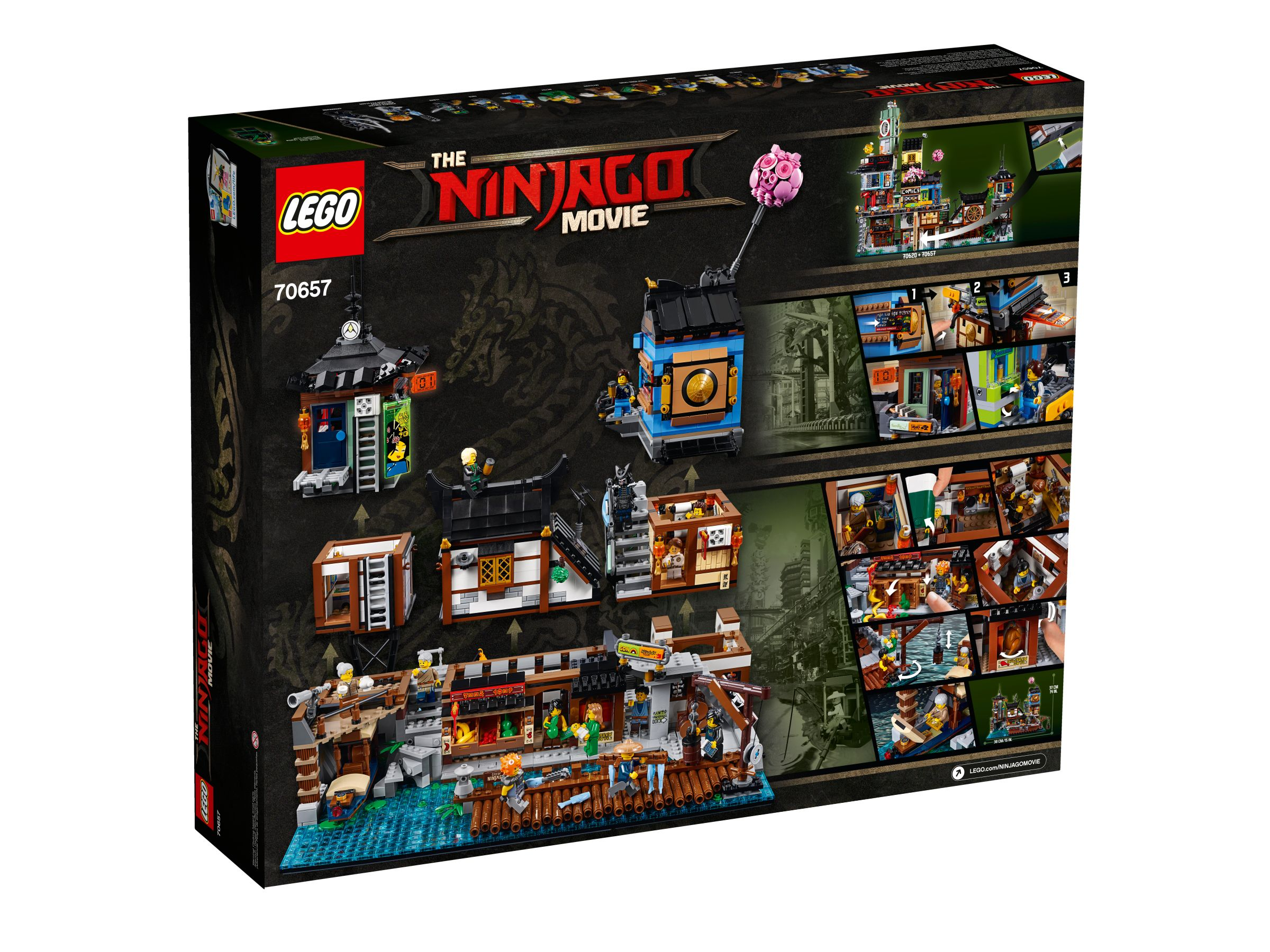 LEGO The LEGO Ninjago Movie 70657 Ninjago City Hafen LEGO_70657_alt4.jpg