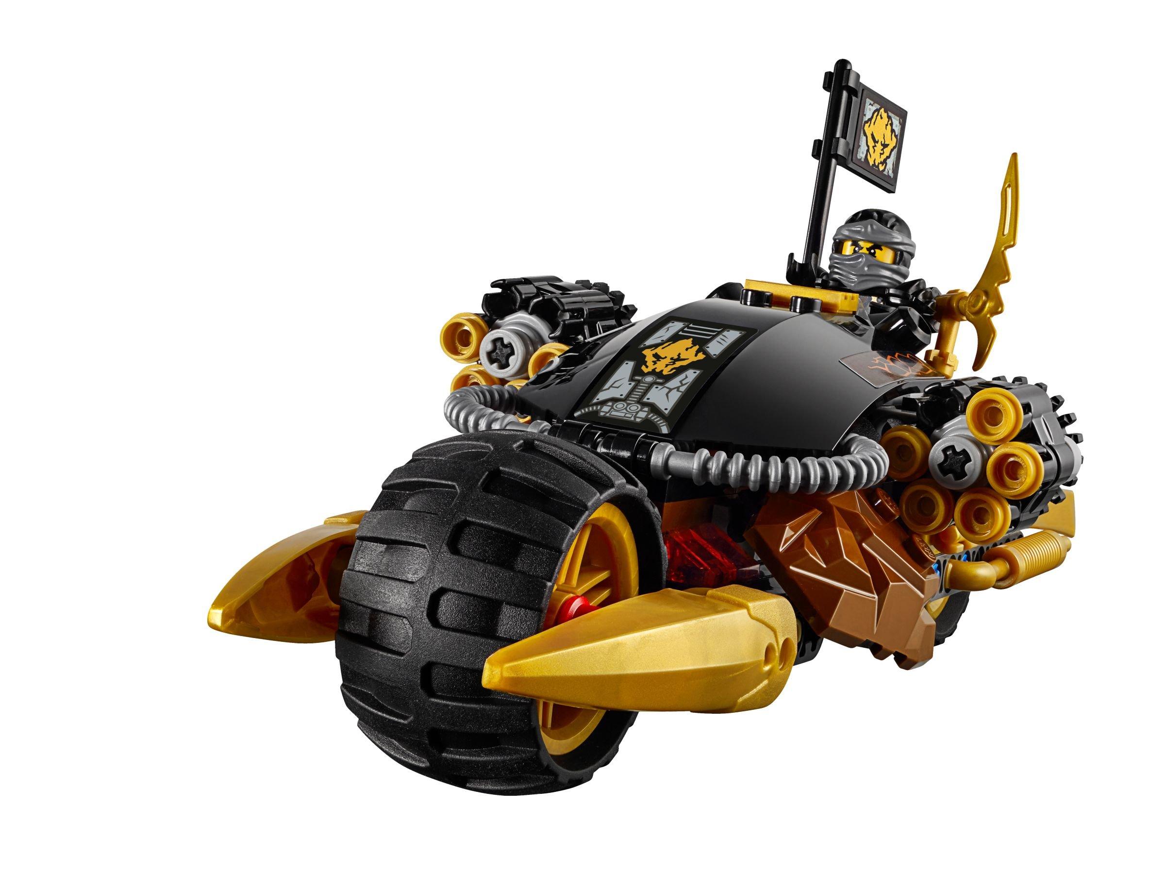 lego® ninjago  cole's donnerbike 70733 2015  lego