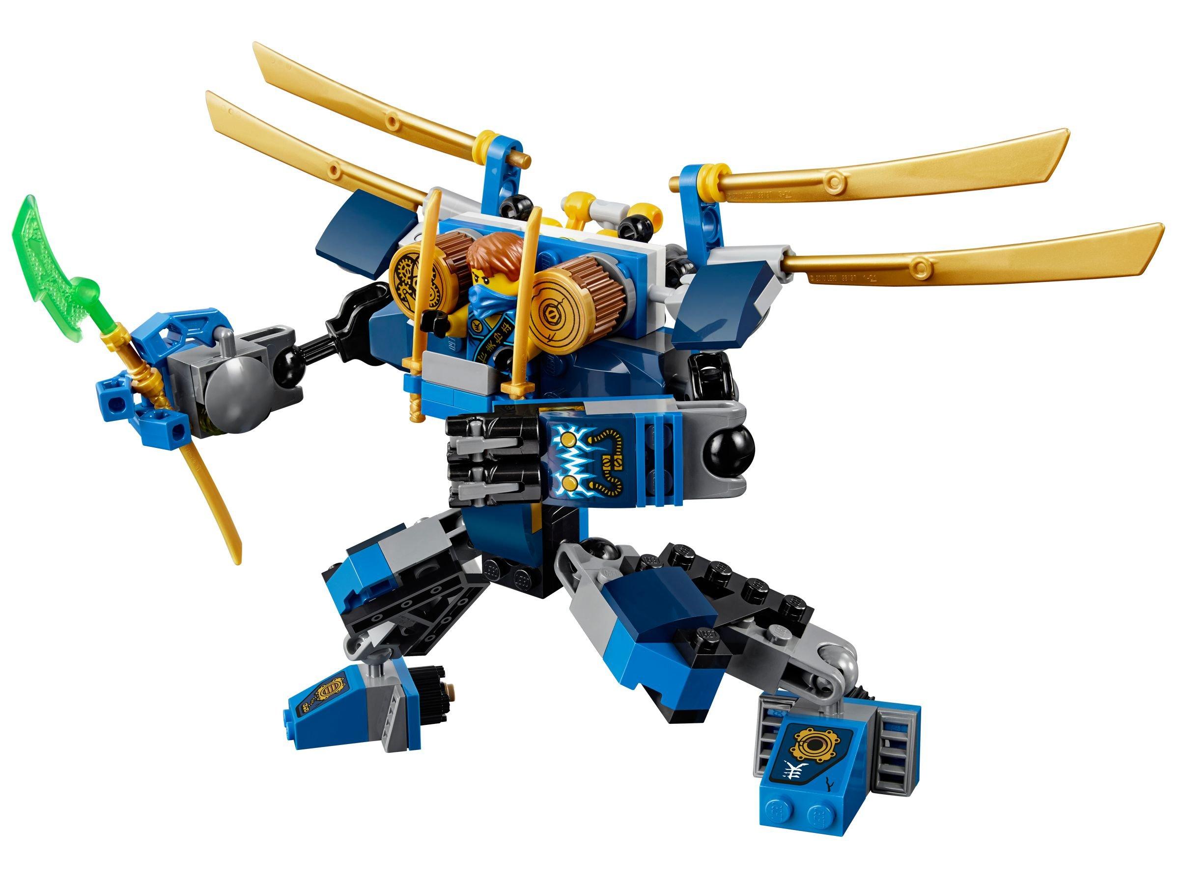Jay's Elektro-Mech 70754 LEGO Ninjago (2015) im ...