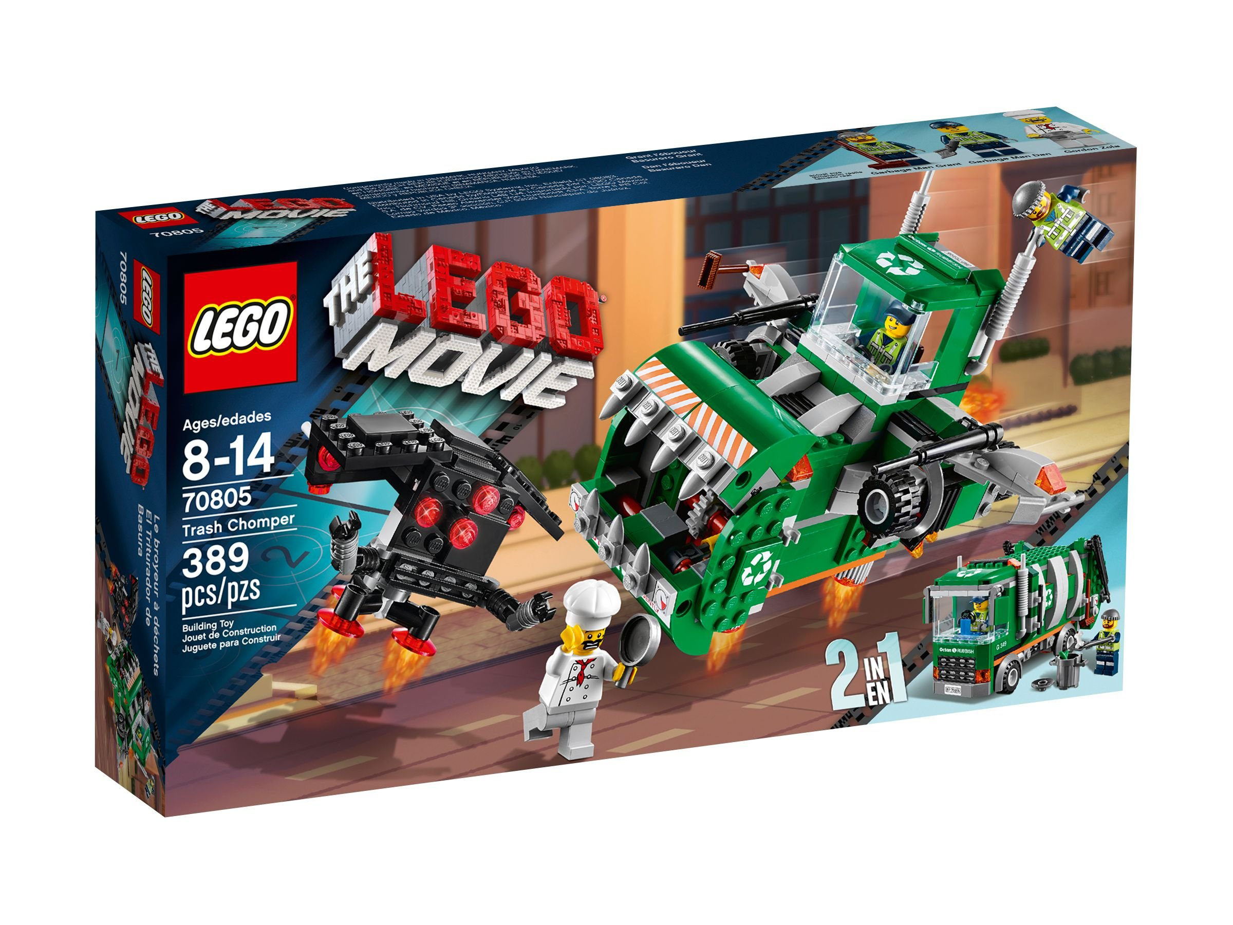 LEGO The LEGO Movie 70805 Müllschlucker LEGO_70805_alt1.jpg