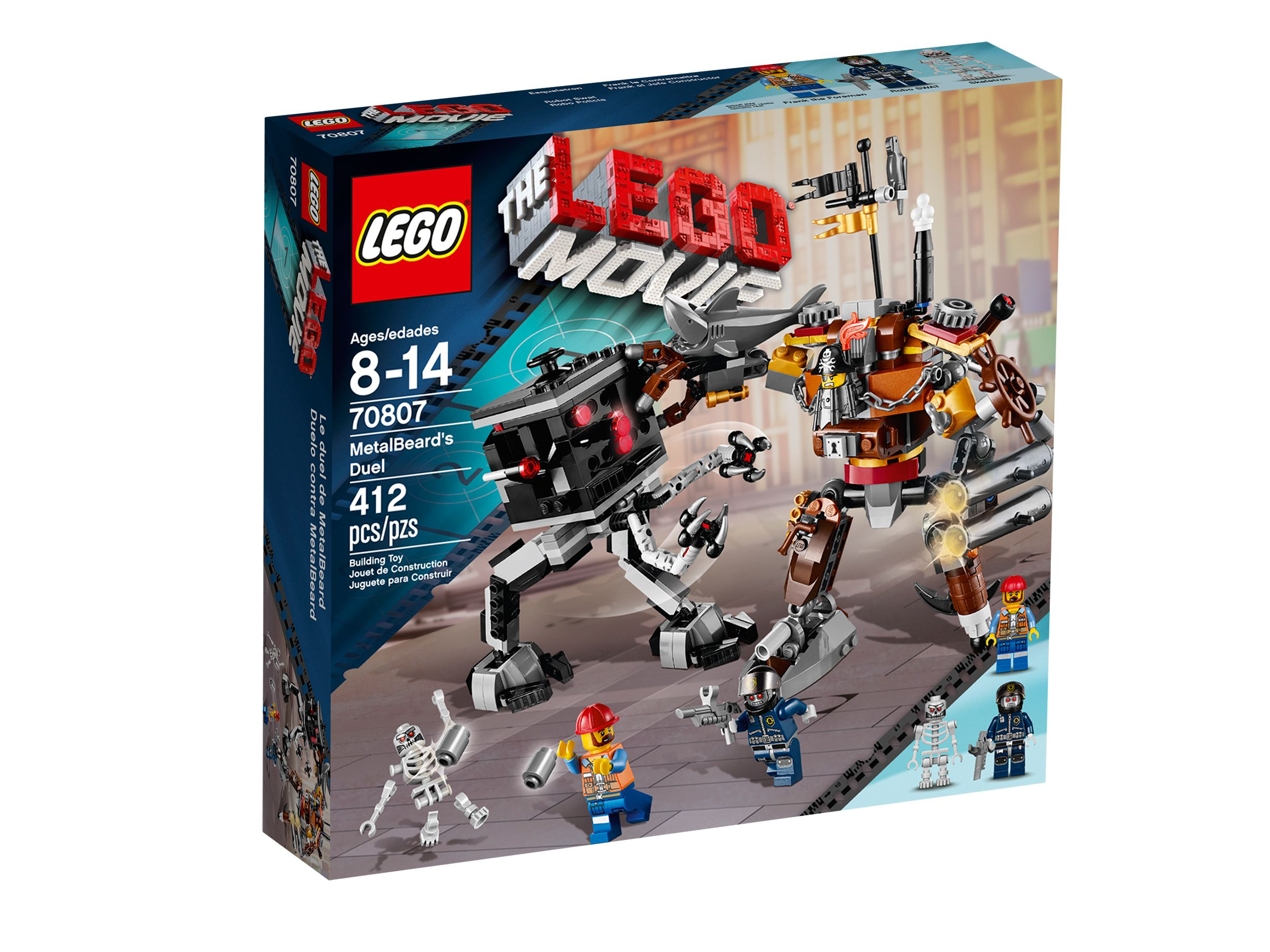 LEGO The LEGO Movie 70807 Eisenbarts Duell LEGO_70807_alt1.jpg