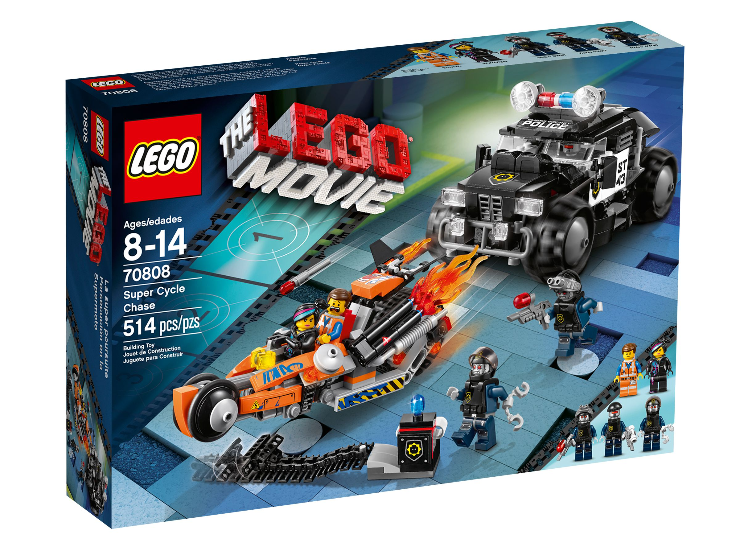 LEGO The LEGO Movie 70808 Superbike Verfolgungsrennen LEGO_70808_alt1.jpg