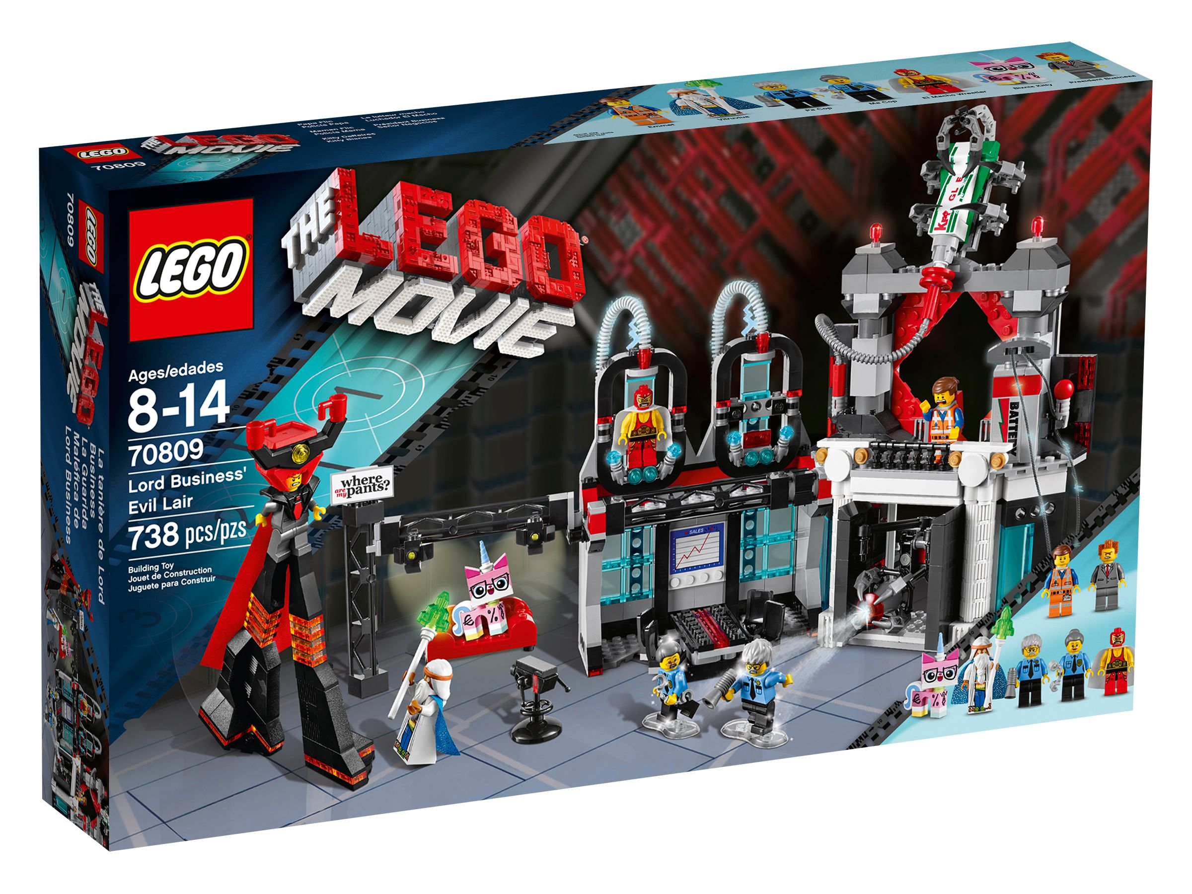 LEGO The LEGO Movie 70809 Lord Business' Hauptzentrale LEGO_70809_alt1.jpg