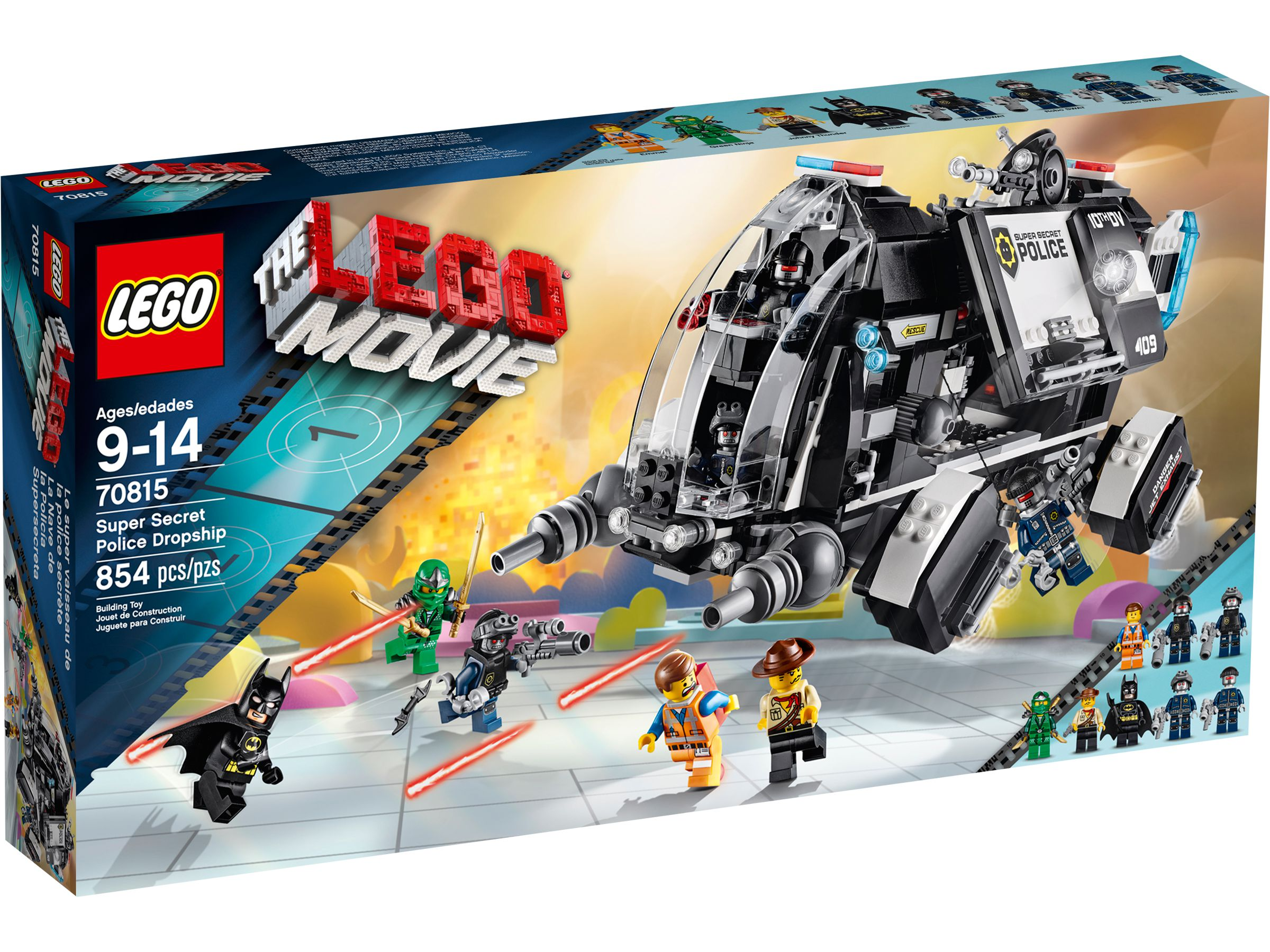 LEGO The LEGO Movie 70815 Raumschiff der Super-Geheimpolizei LEGO_70815_alt1.jpg