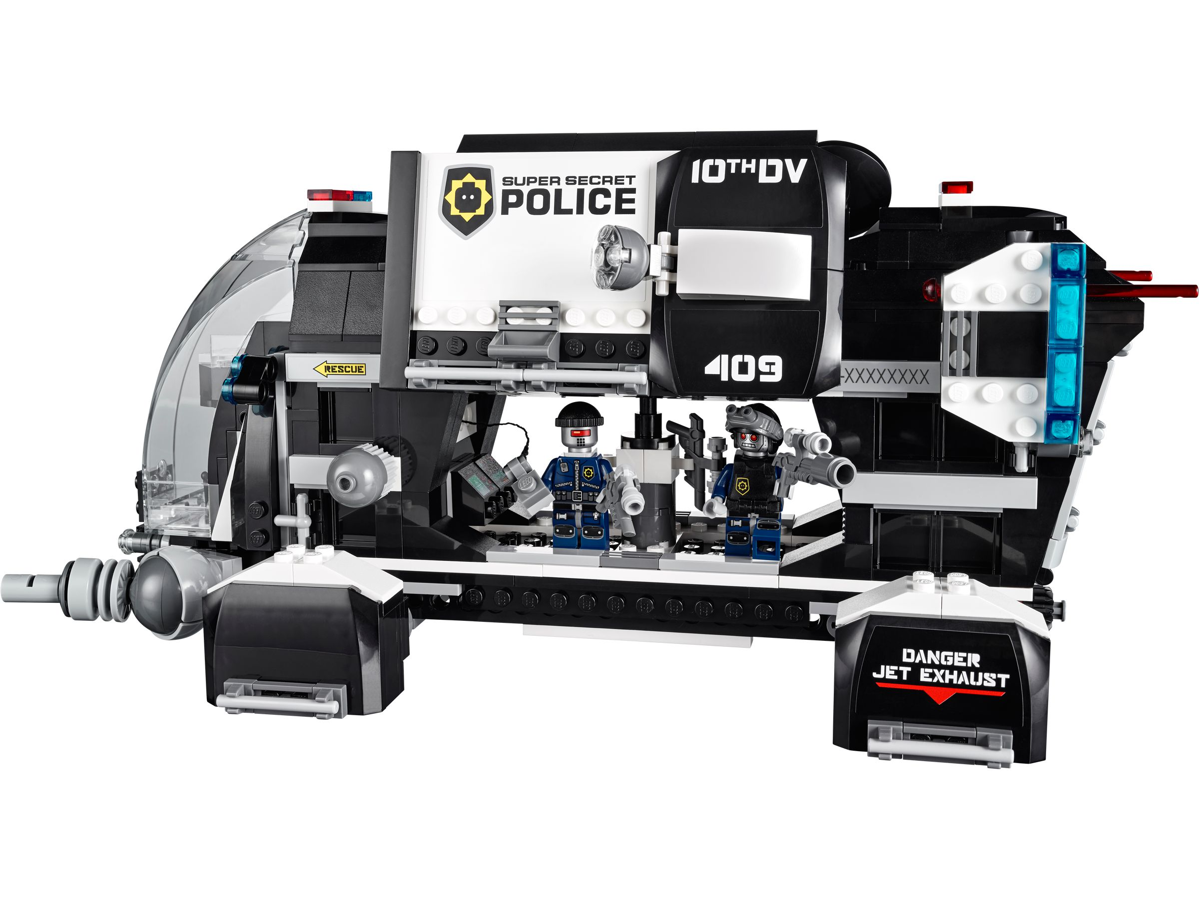 LEGO The LEGO Movie 70815 Raumschiff der Super-Geheimpolizei LEGO_70815_alt2.jpg