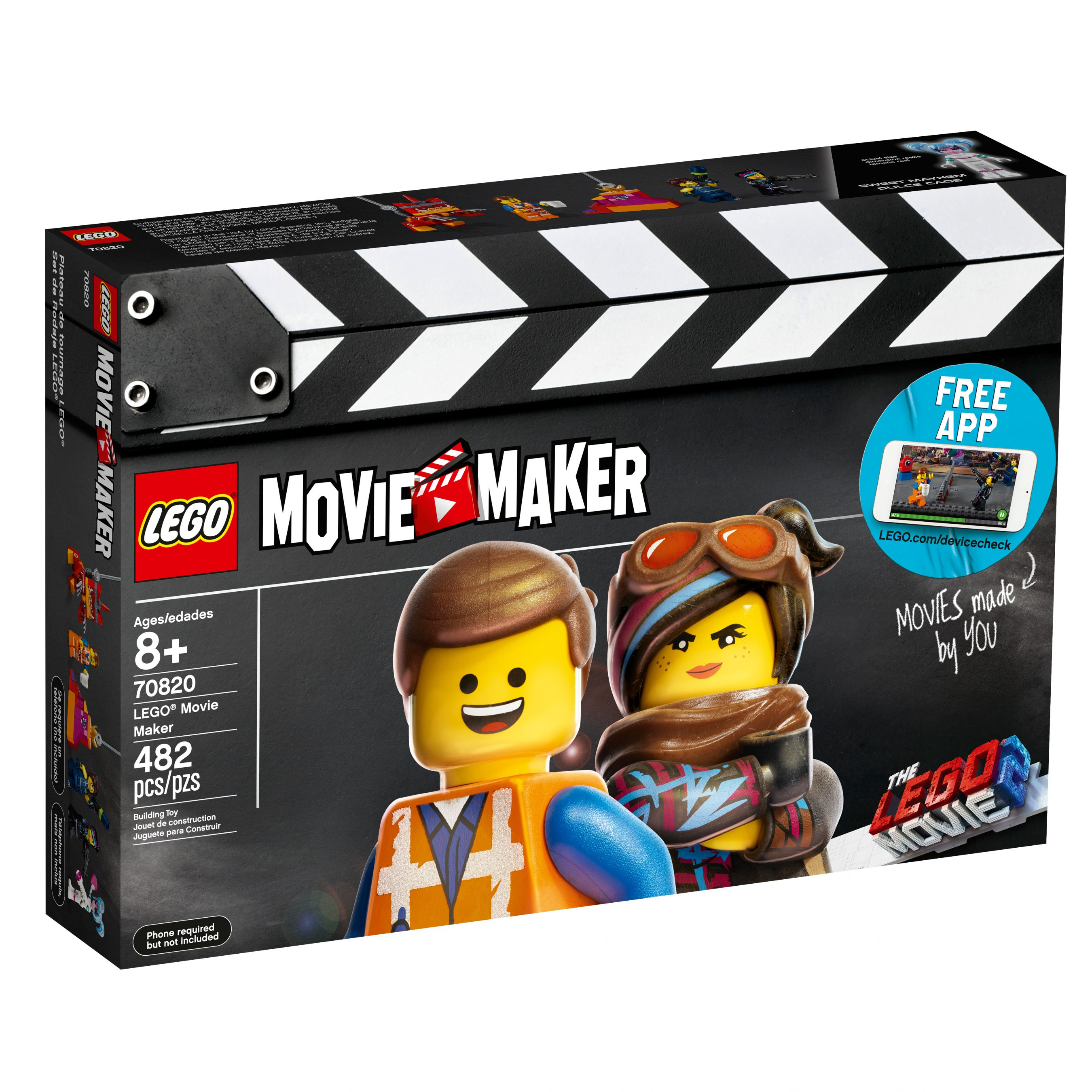 LEGO The LEGO Movie 2 70820 LEGO® Movie Maker LEGO_70820_alt1.jpg