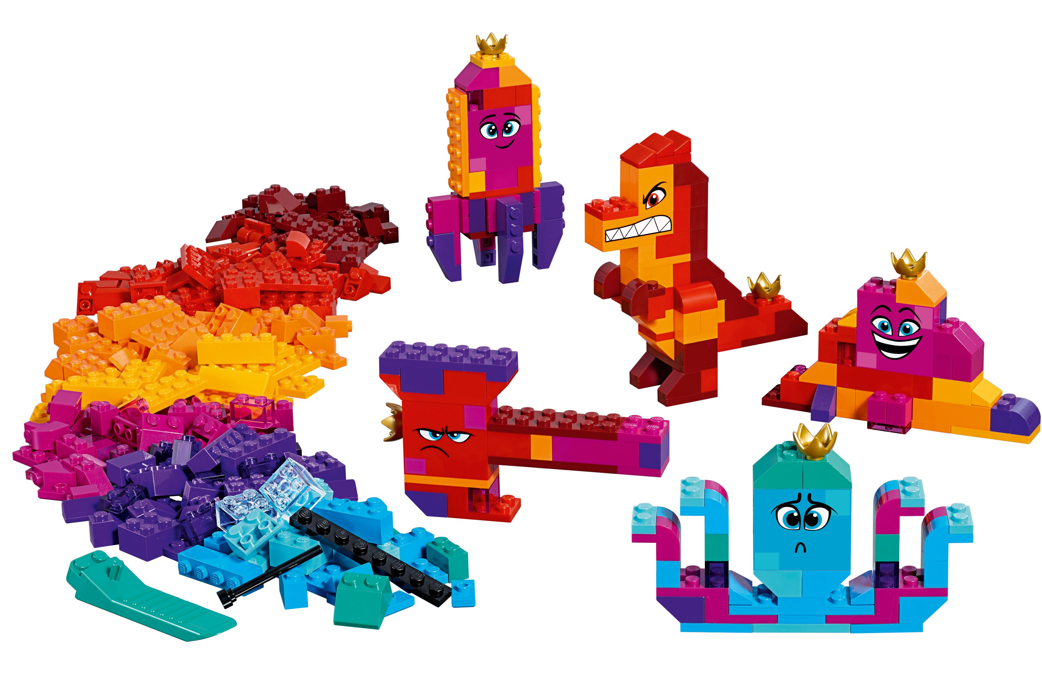 LEGO® The LEGO Movie 2 70825 Königin Watevras Bau-Was-Du-Willst-Box!