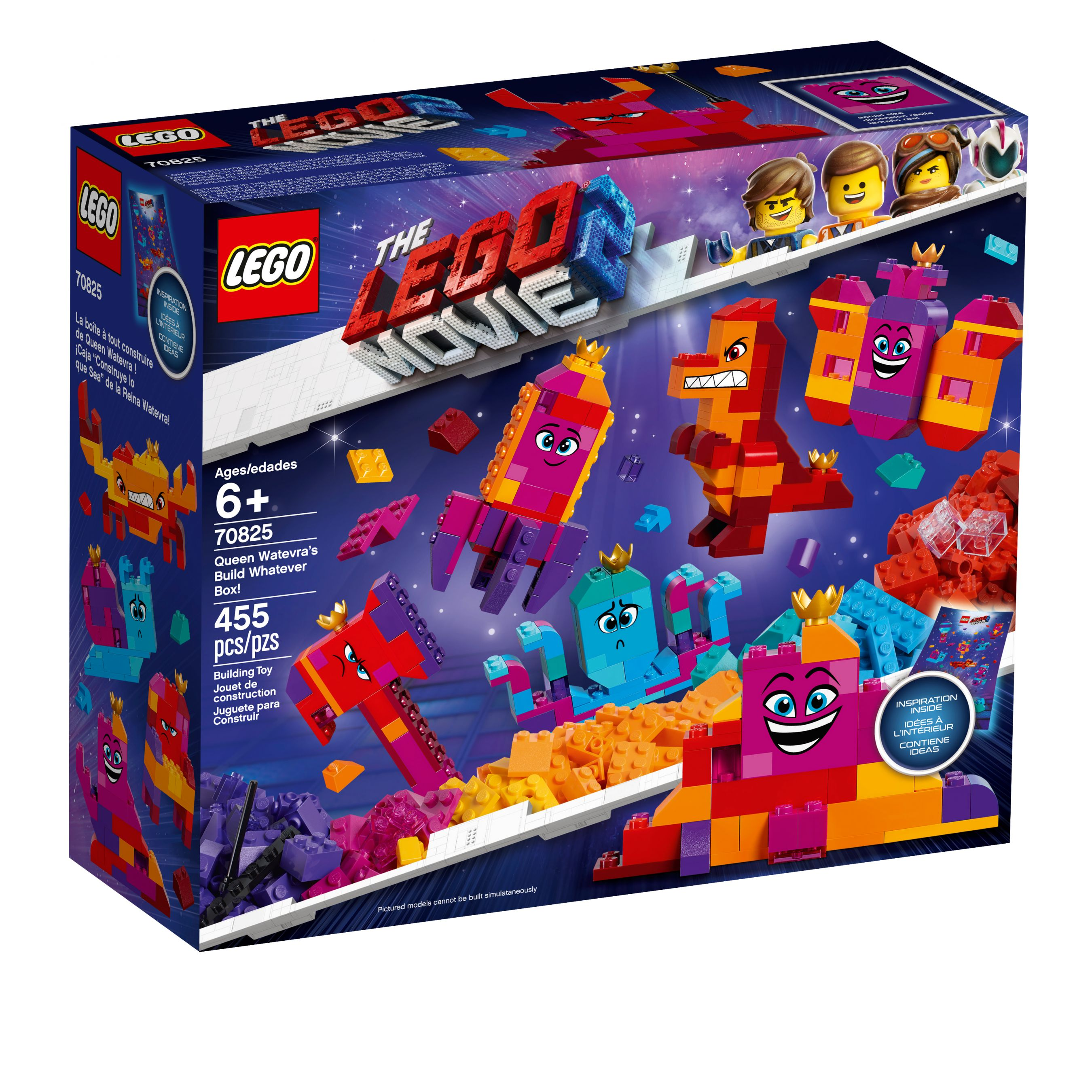 LEGO The LEGO Movie 2 70825 Königin Wasimma Si-Willis Bau-Was-Du-Willst-Box! LEGO_70825_alt1.jpg