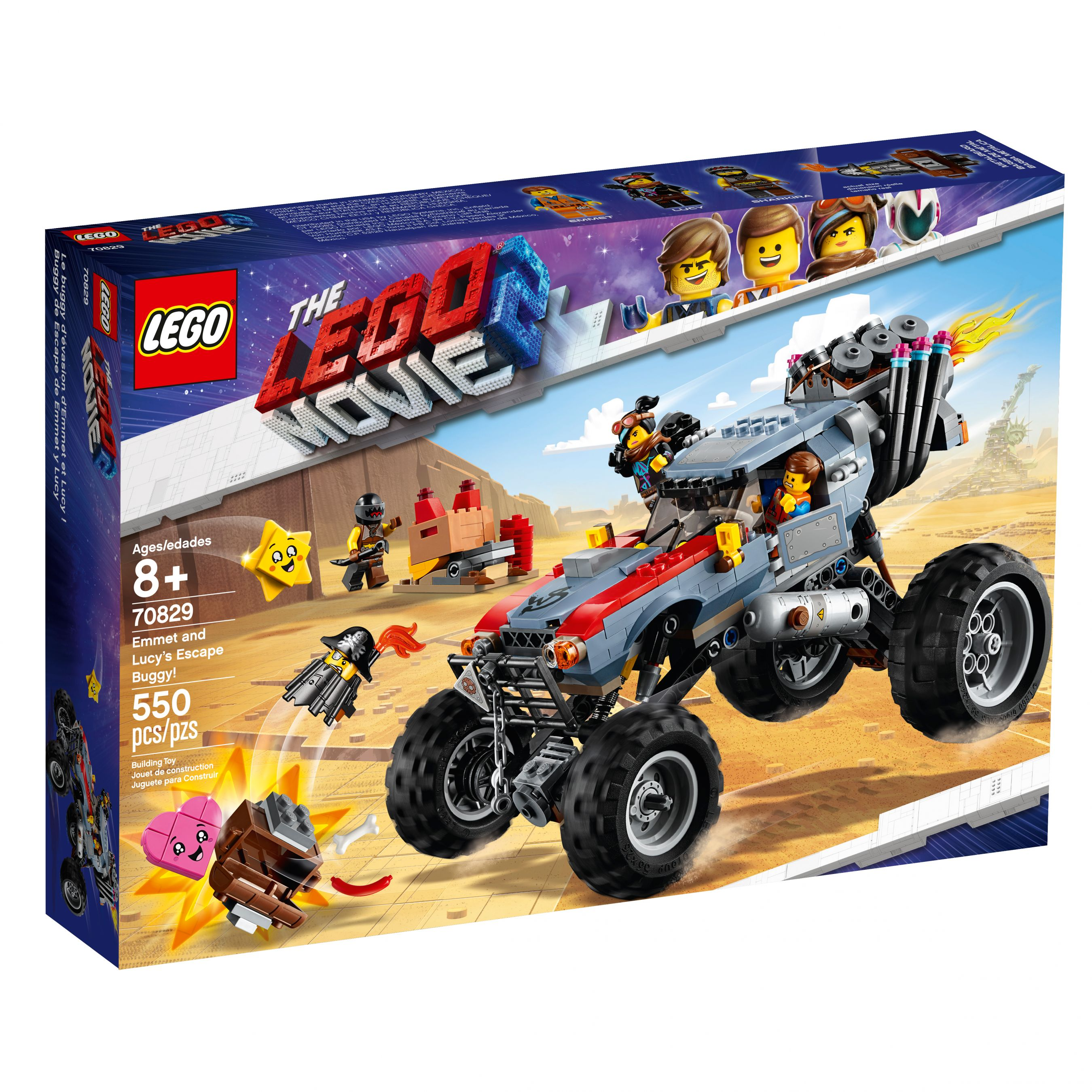 LEGO The LEGO Movie 2 70829 Emmets und Lucys Flucht-Buggy! LEGO_70829_alt1.jpg