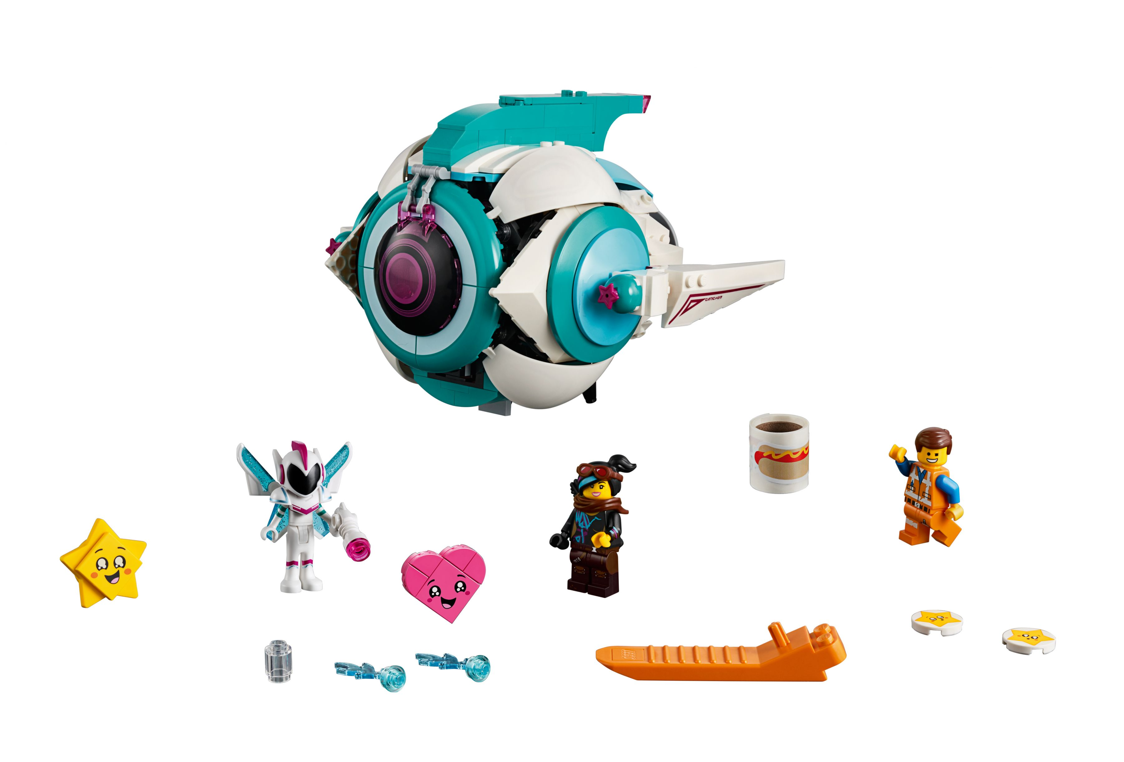LEGO The LEGO Movie 2 70830 Sweet Mischmaschs Schwester-Raumschiff