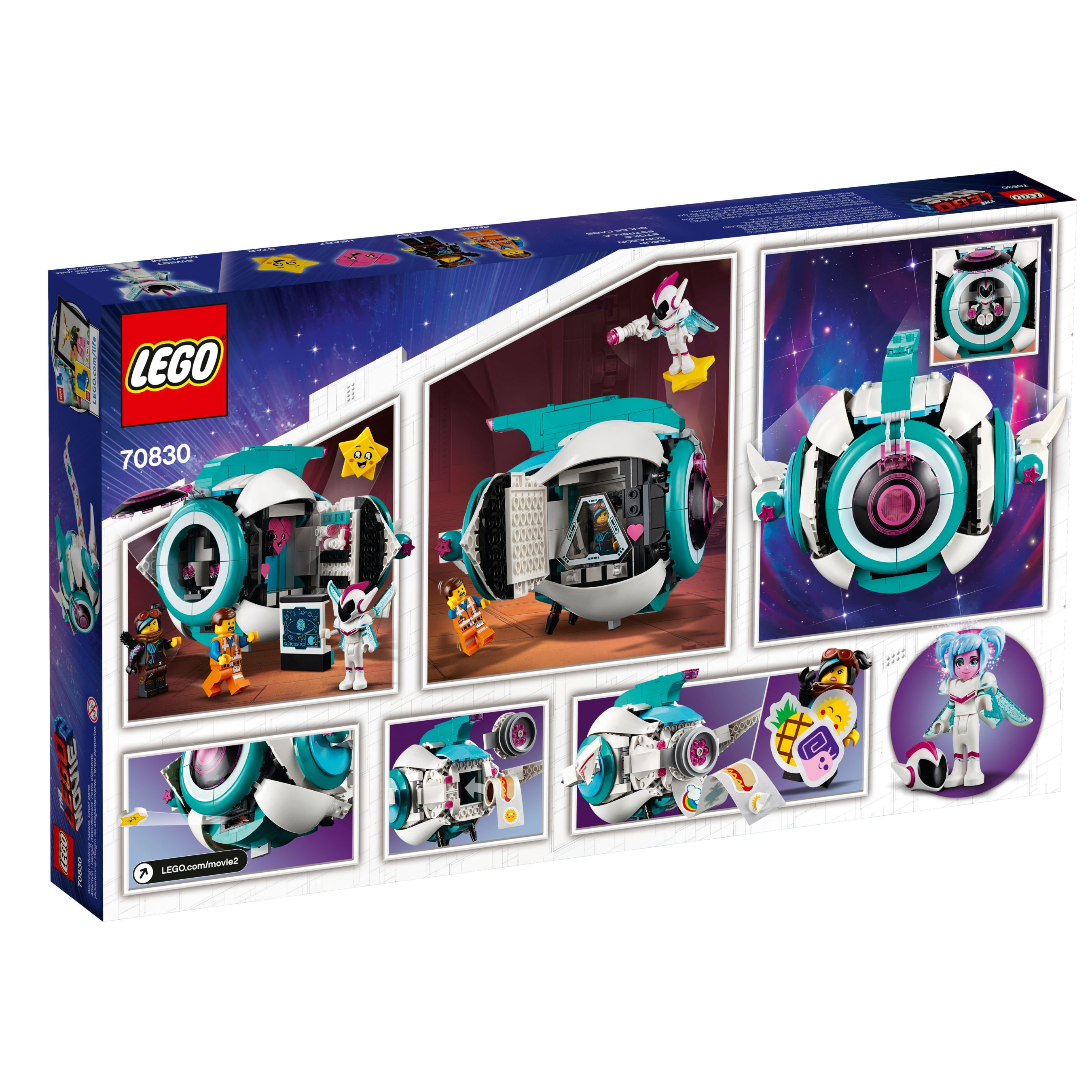 LEGO The LEGO Movie 2 70830 Sweet Mischmaschs Schwester-Raumschiff LEGO_70830_alt2.jpg