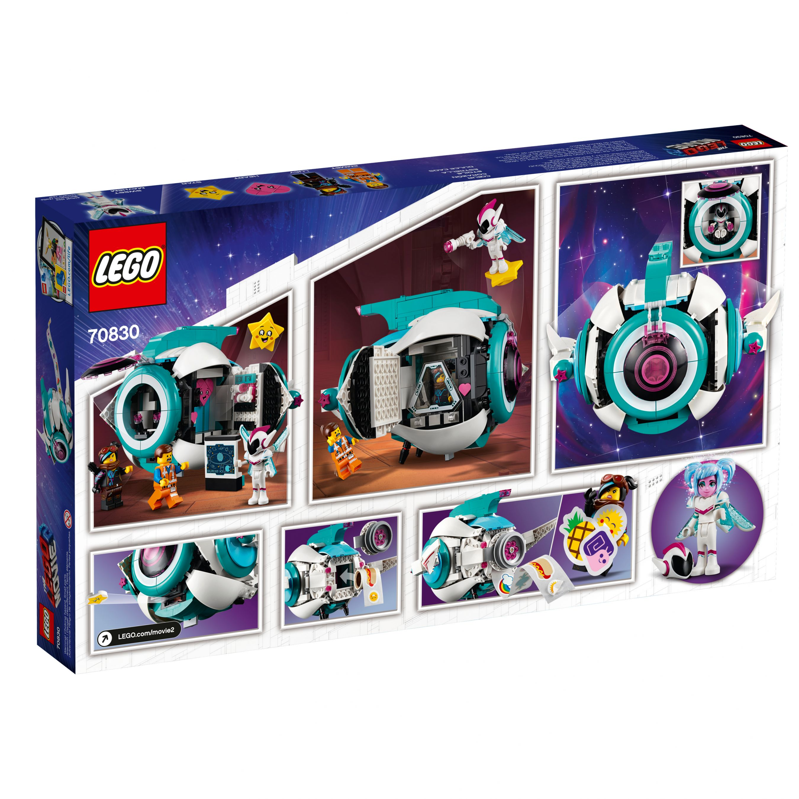 LEGO The LEGO Movie 2 70830 Sweet Mischmaschs Schwester-Raumschiff LEGO_70830_alt4.jpg