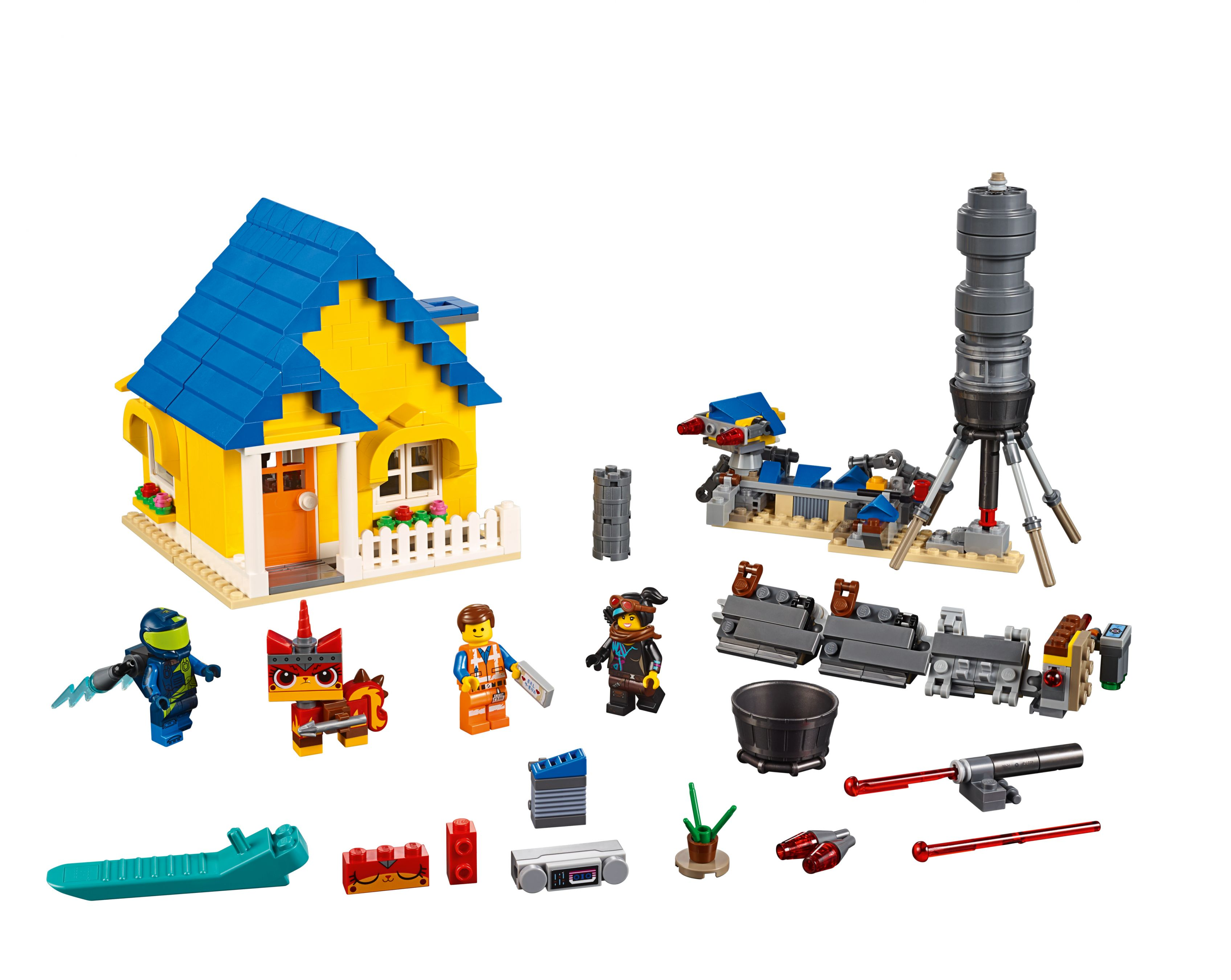 LEGO The LEGO Movie 70831 Emmets Traumhaus/Rettungsrakete!