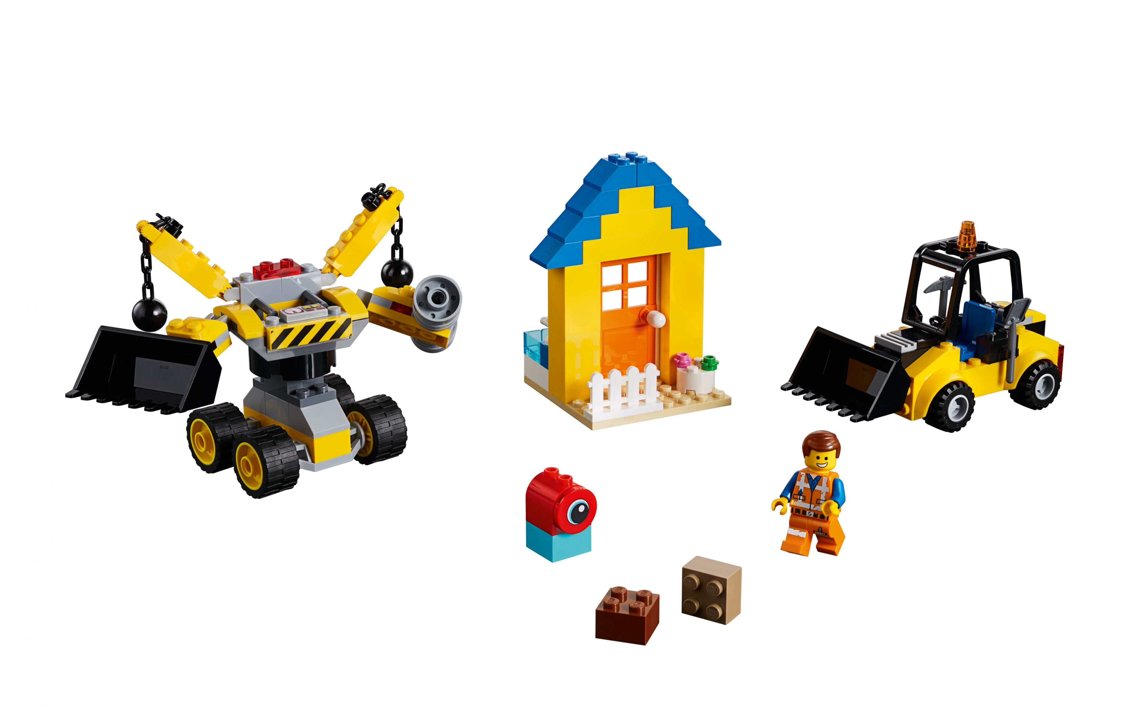 LEGO The LEGO Movie 2 70832 Emmets Baukoffer!