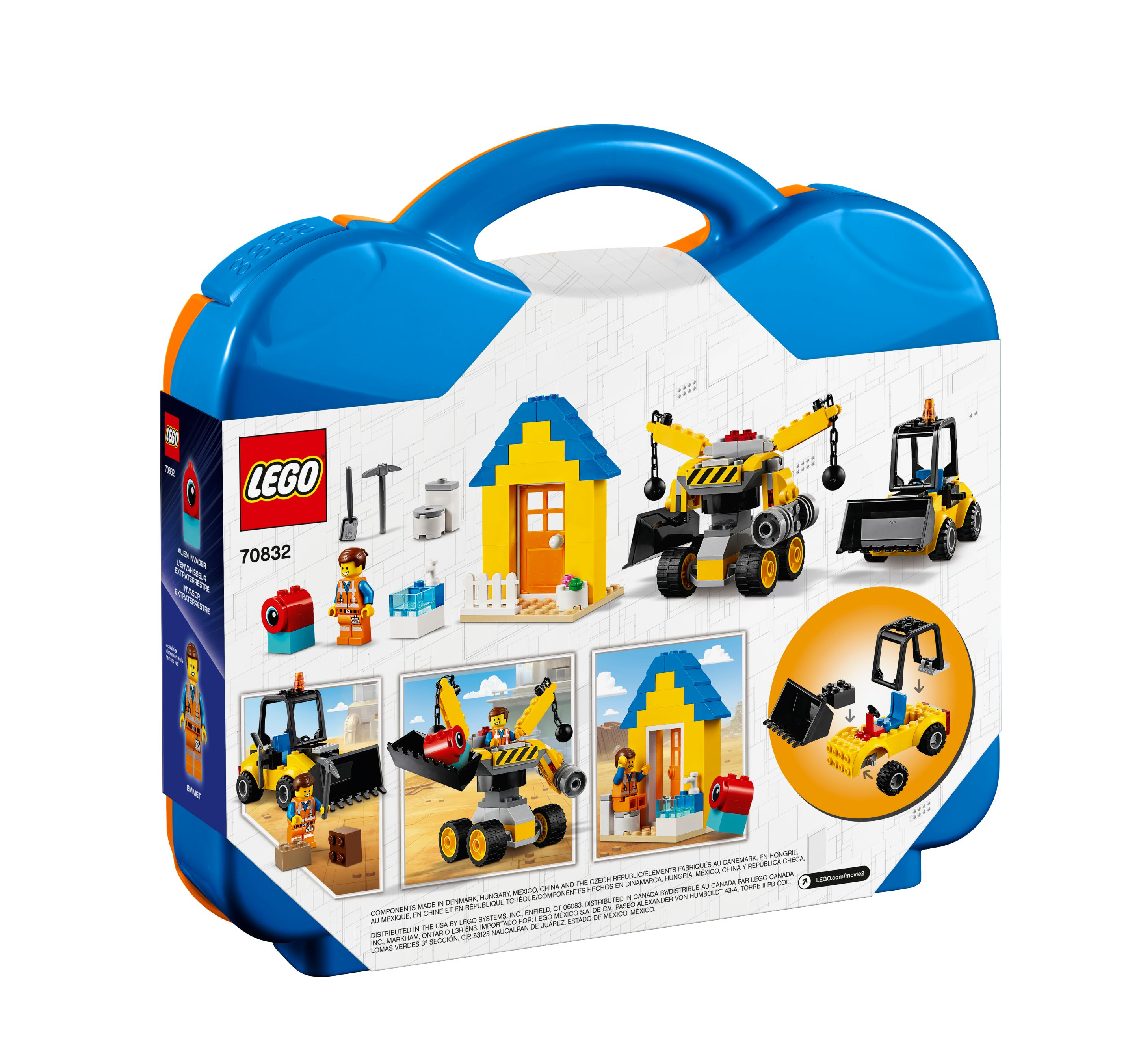LEGO The LEGO Movie 2 70832 Emmets Baukoffer! LEGO_70832_alt8.jpg