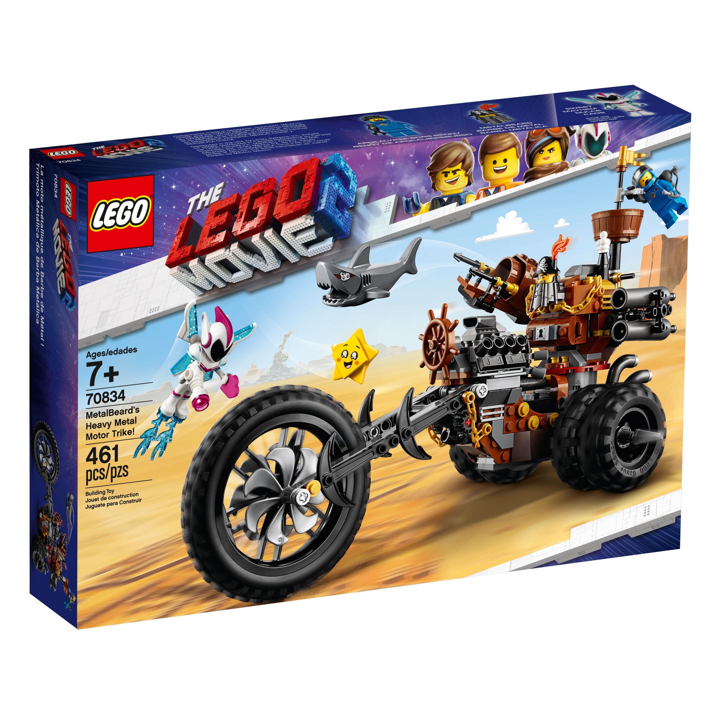 LEGO The LEGO Movie 2 70834 Eisenbarts Heavy-Metal-Trike! LEGO_70834_alt1.jpg