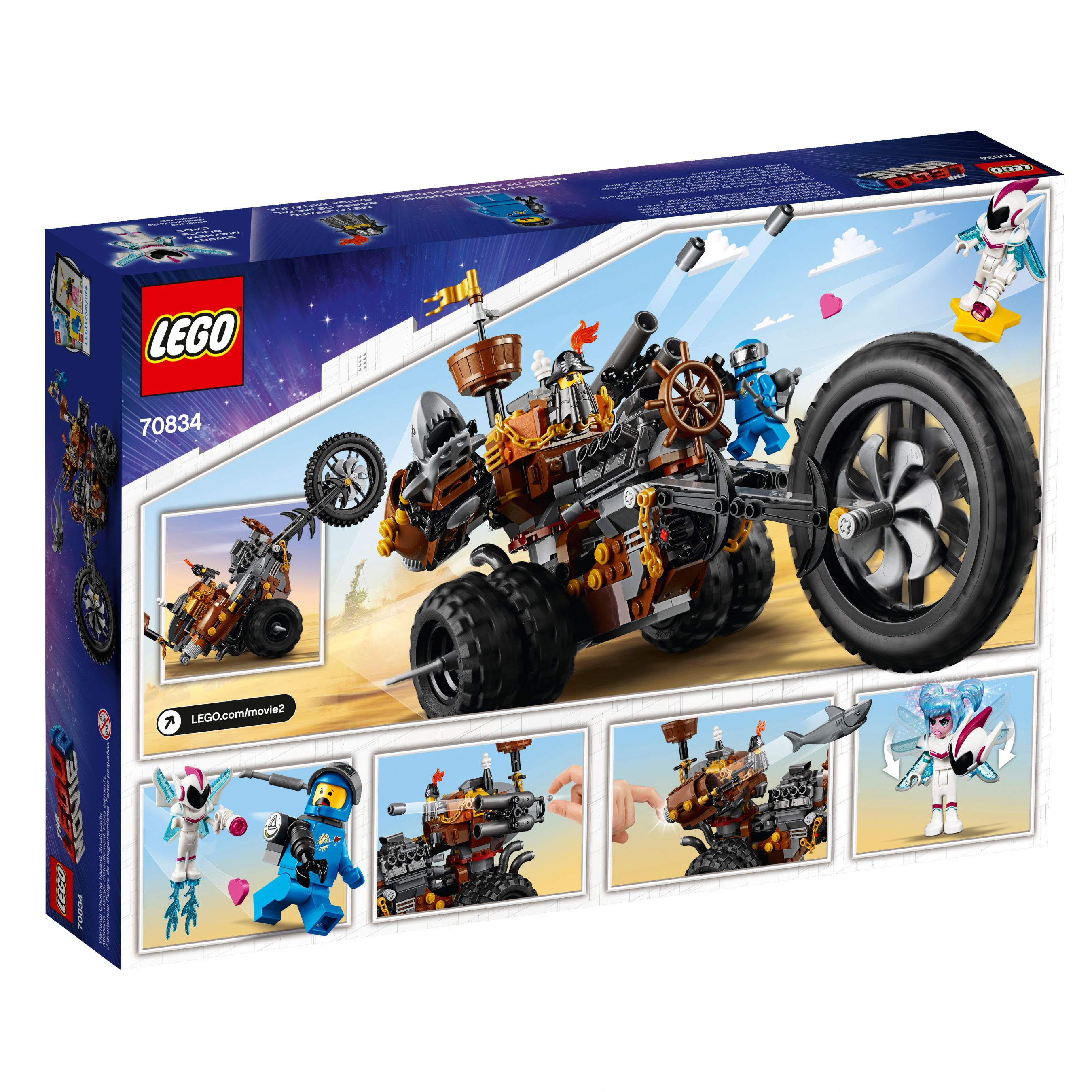 LEGO The LEGO Movie 2 70834 Eisenbarts Heavy-Metal-Trike! LEGO_70834_alt4.jpg