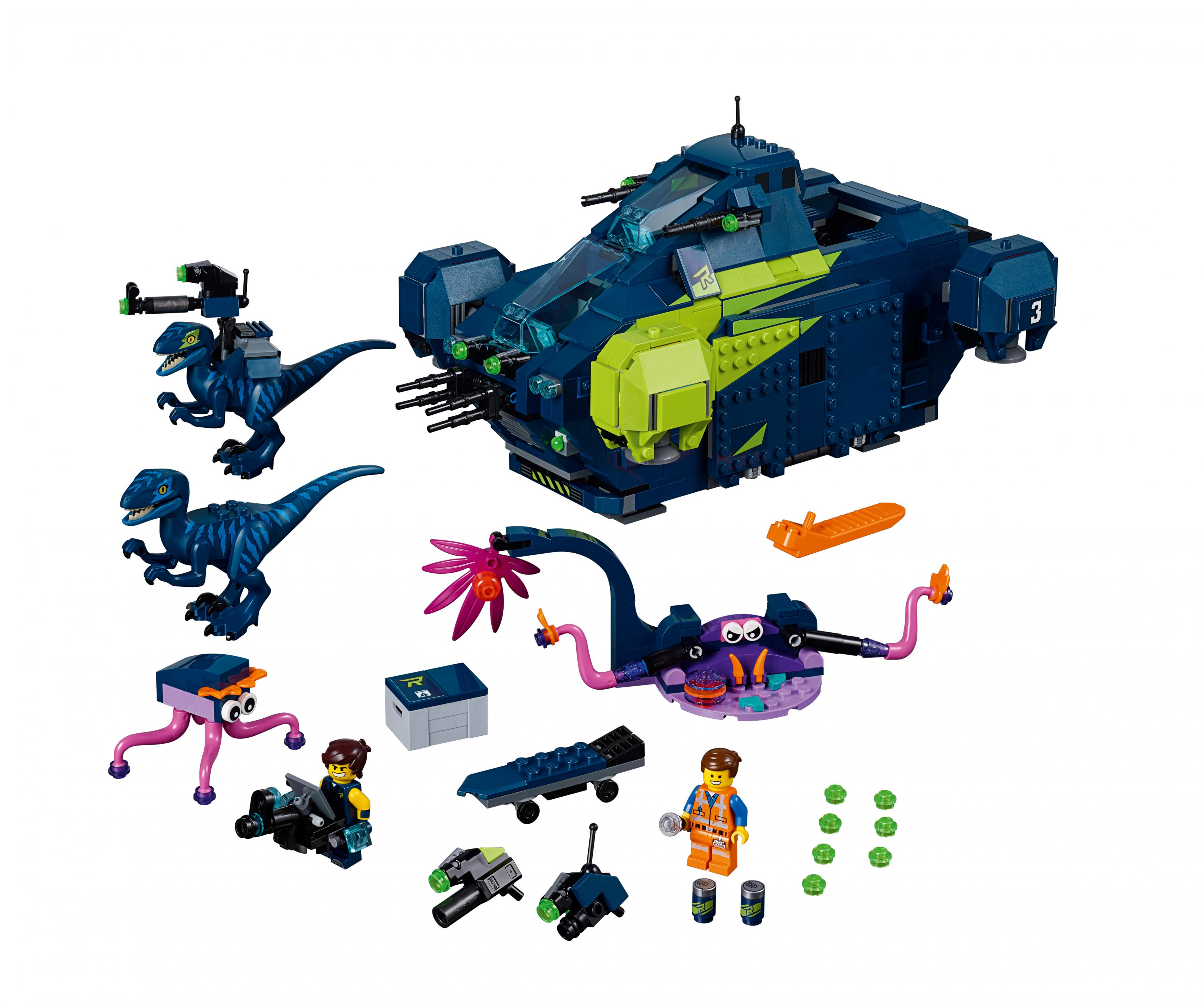 Rex2019Rex's Rexplorer Lego Movie 2 The Von Der 70835 IE92DWH