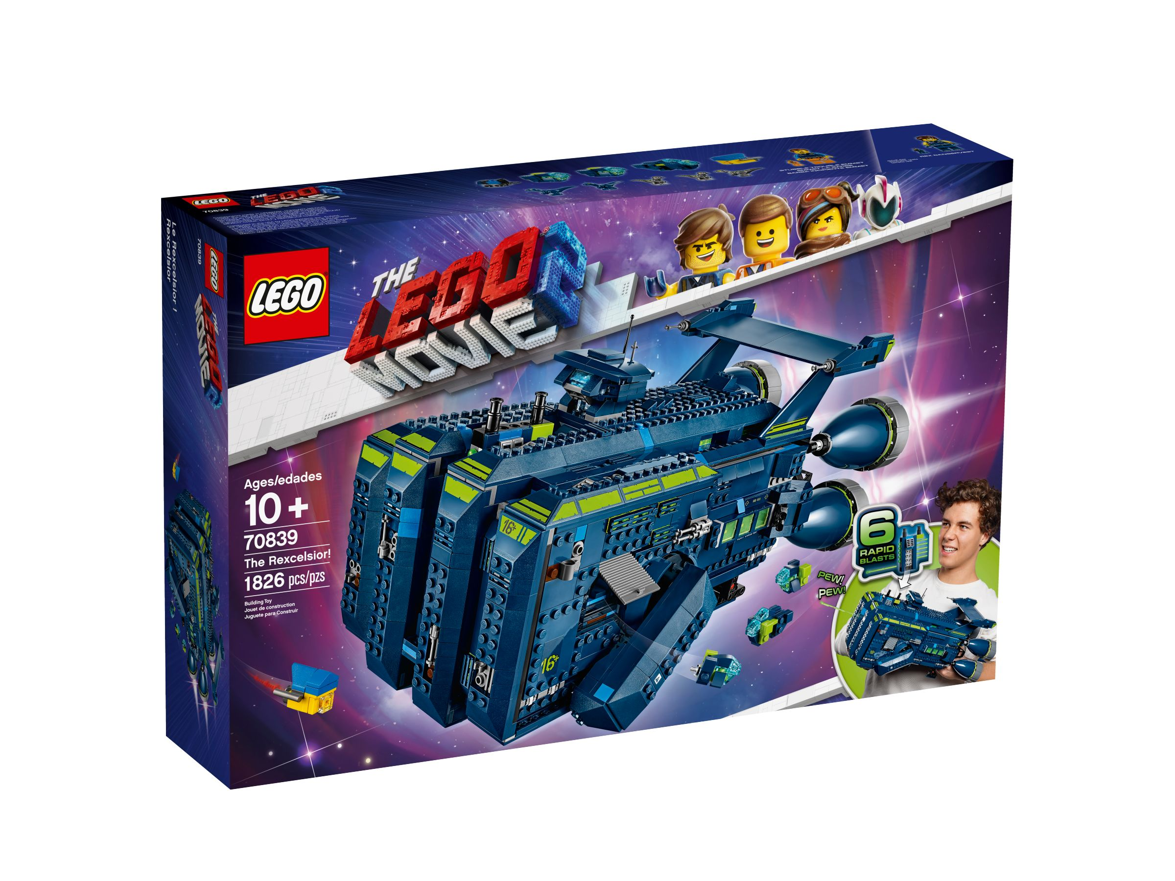 LEGO The LEGO Movie 2 70839 Die Rexcelsior! LEGO_70839_alt1.jpg