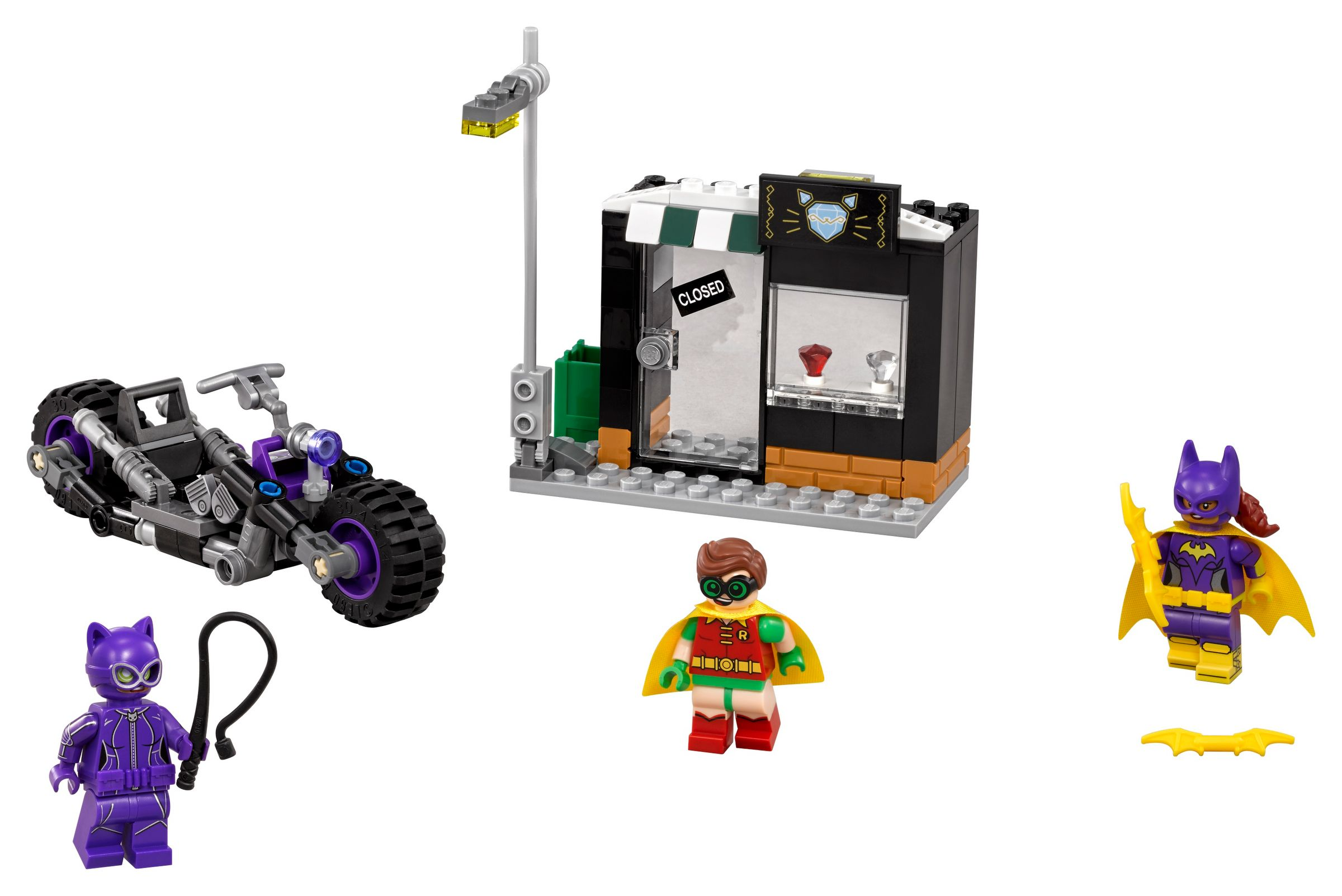 LEGO The LEGO Batman Movie 70902 Catwoman™: Catcycle-Verfolgungsjagd