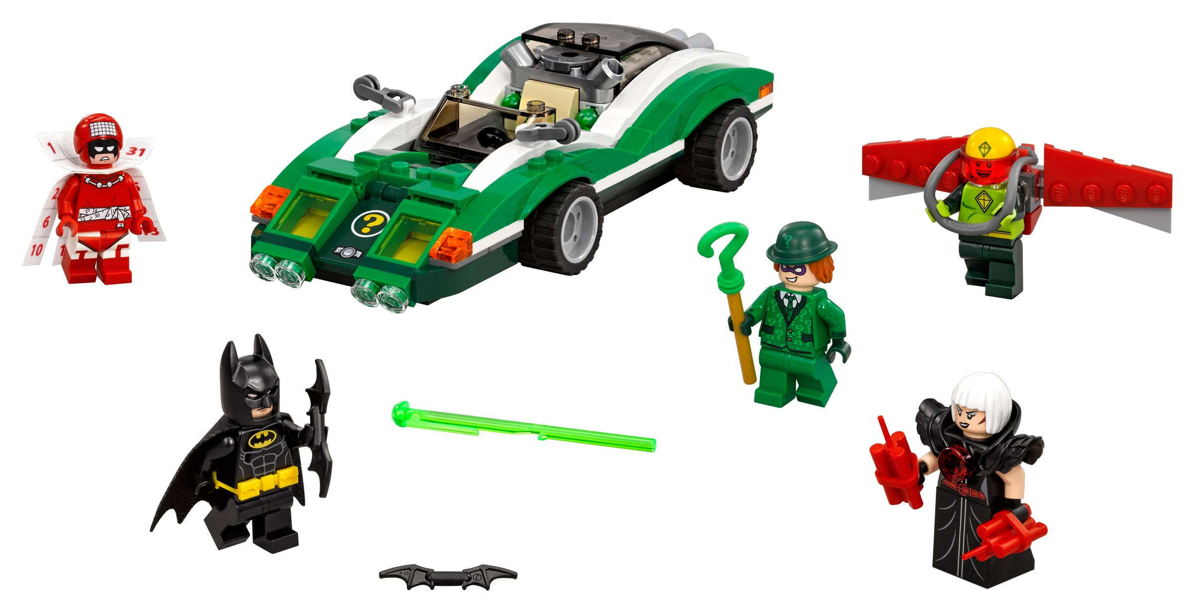 LEGO The LEGO Batman Movie 70903 The Riddler™: Riddle Racer