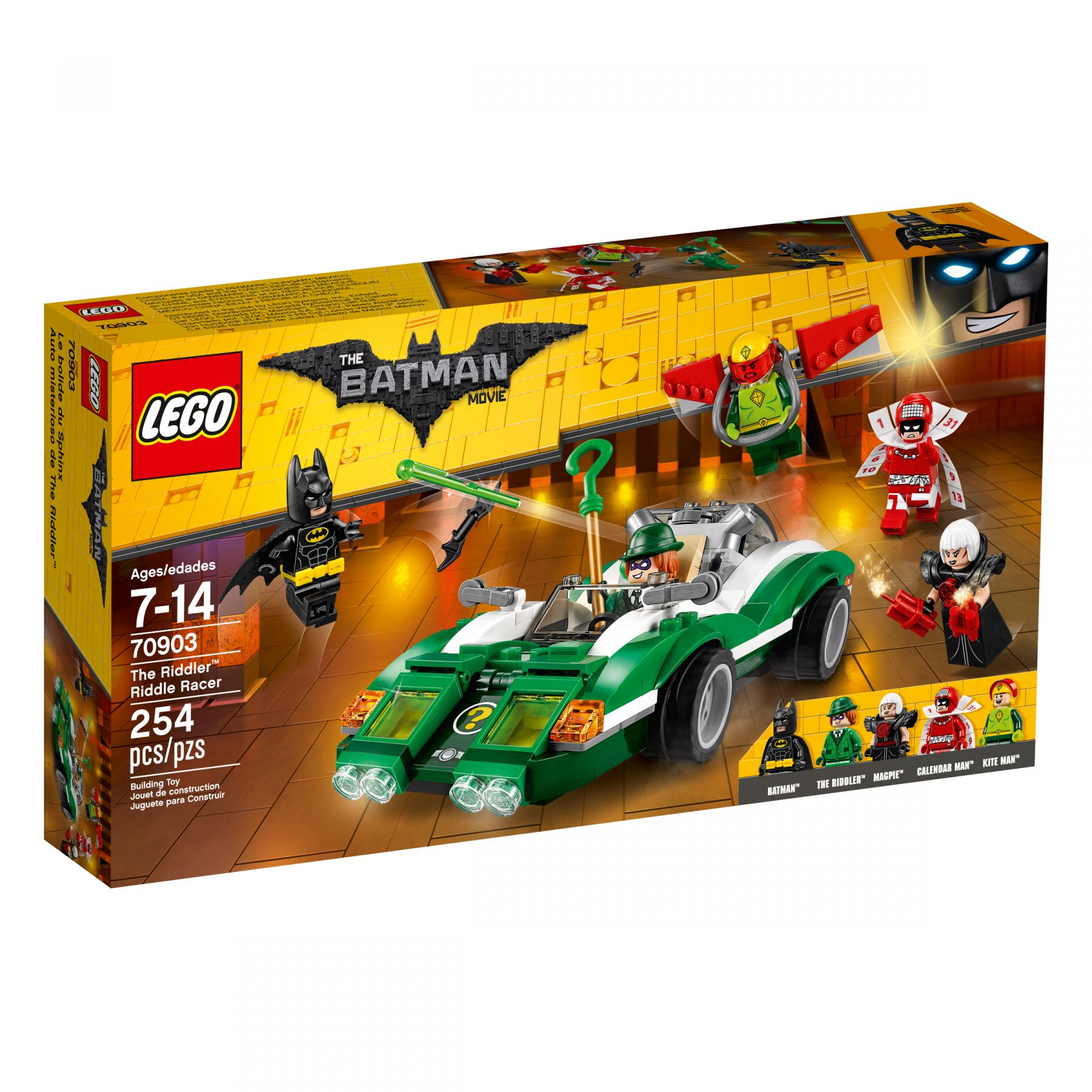 LEGO The LEGO Batman Movie 70903 The Riddler™: Riddle Racer LEGO_70903_alt1.jpg