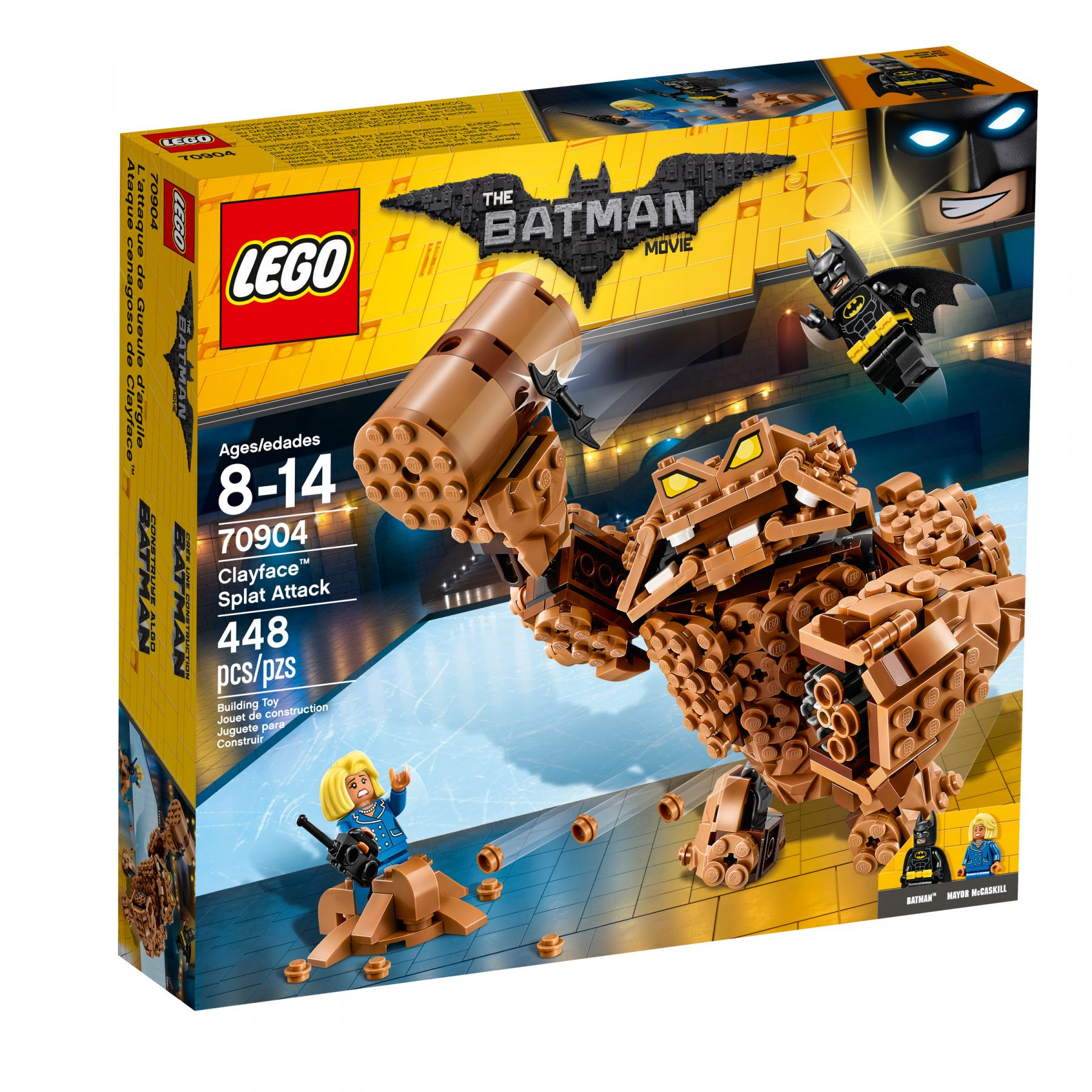 LEGO The LEGO Batman Movie 70904 Clayface™: Matsch-Attacke LEGO_70904_alt1.jpg