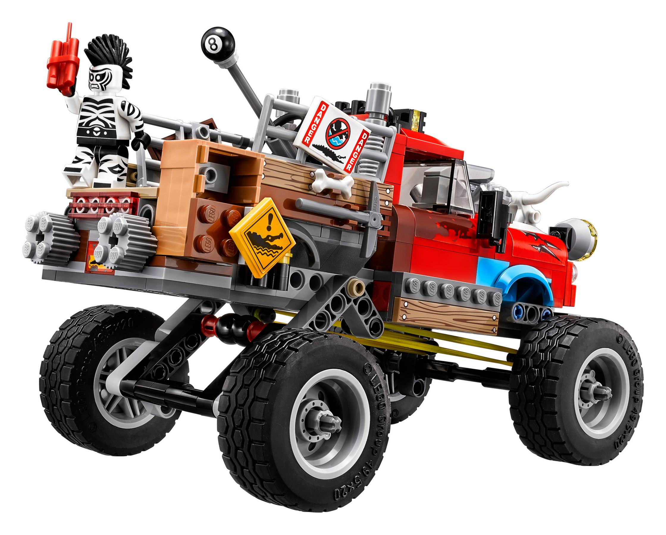 LEGO The LEGO Batman Movie 70907 Killer Crocs Truck LEGO_70907_alt4.jpg