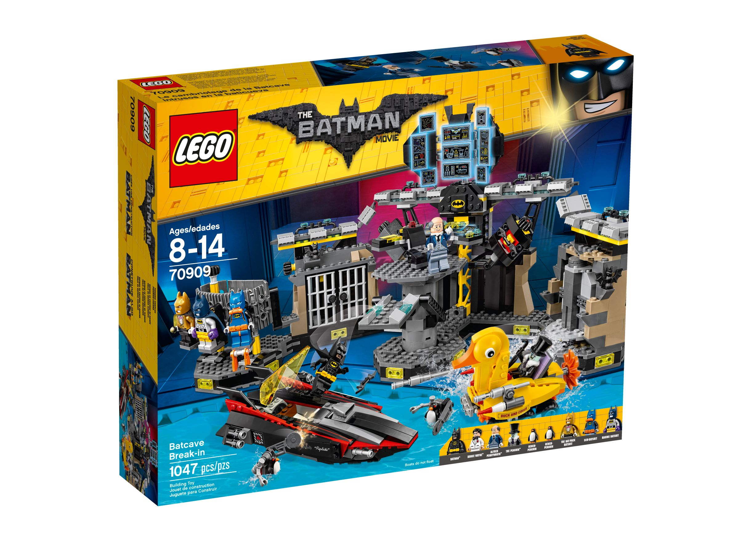 LEGO The LEGO Batman Movie 70909 Batcave-Einbruch LEGO_70909_alt1.jpg