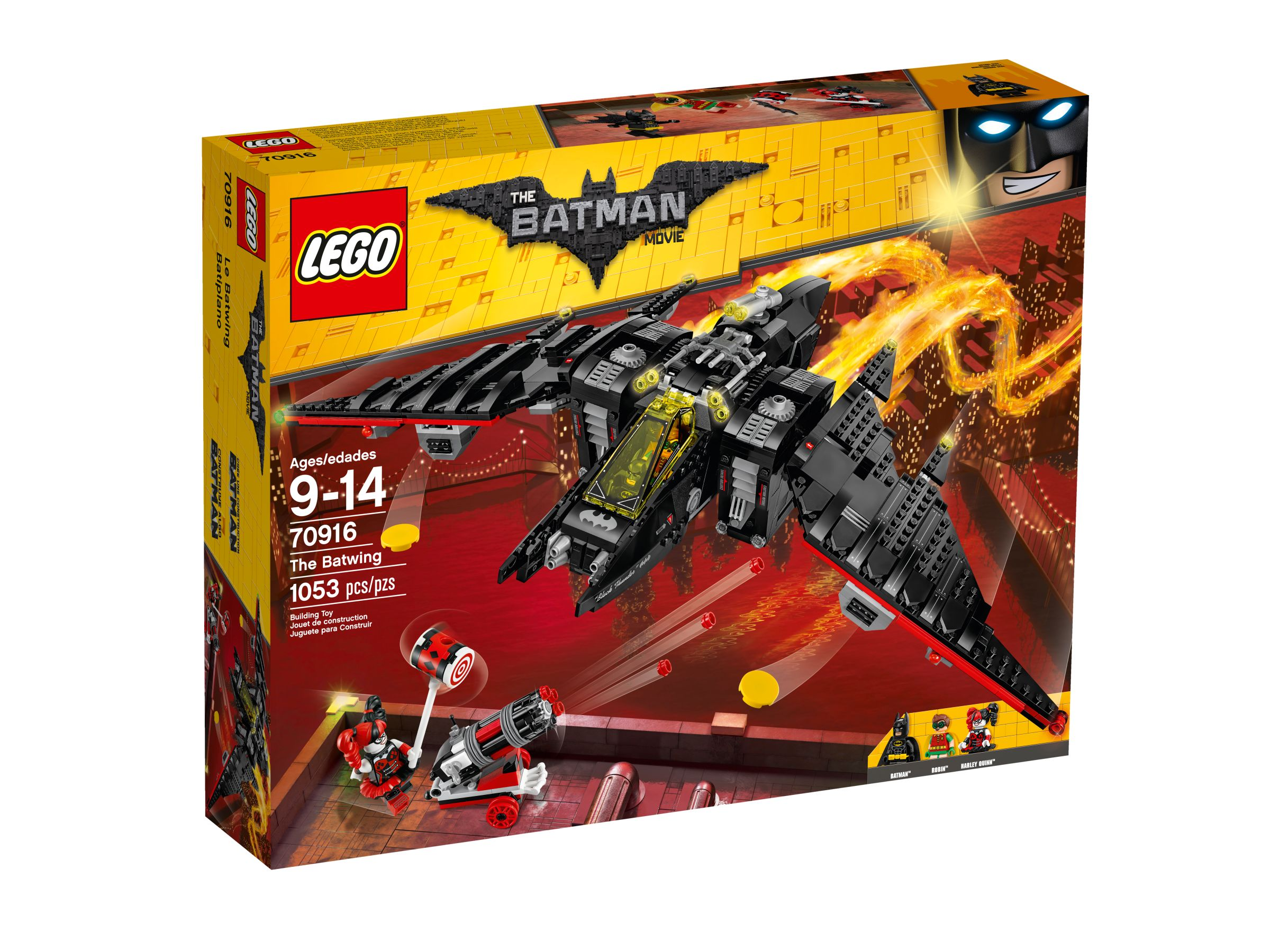 LEGO The LEGO Batman Movie 70916 Batwing LEGO_70916_alt1.jpg