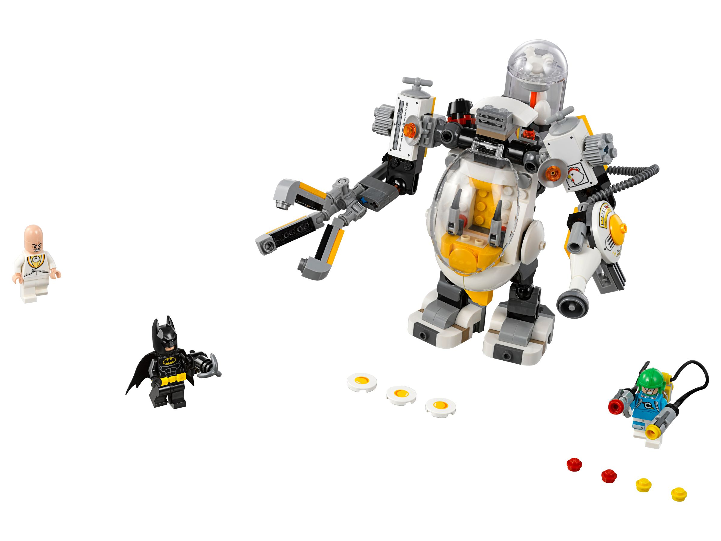 LEGO The LEGO Batman Movie 70920 Egghead bei der Roboter-Essenschlacht