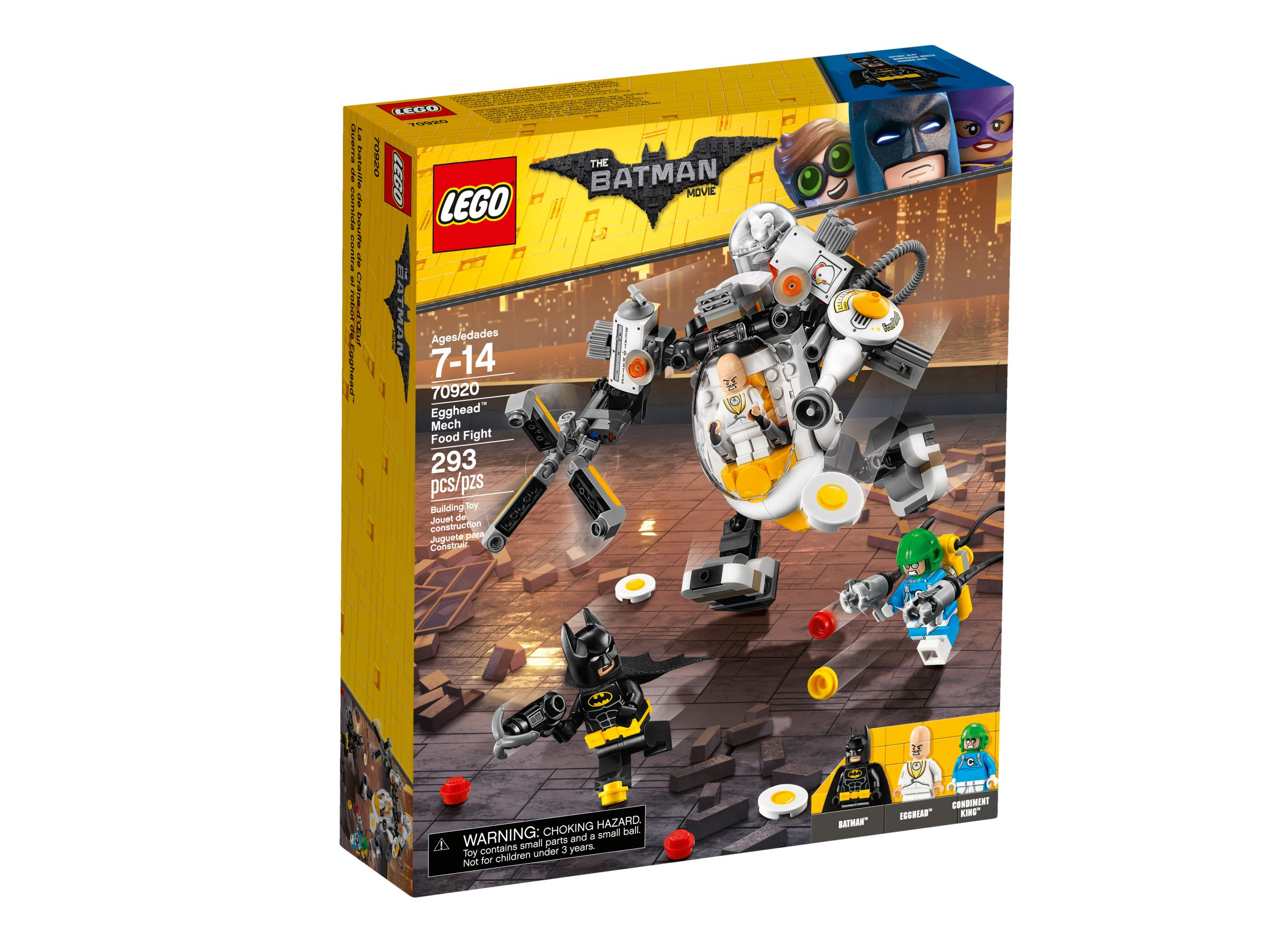 LEGO The LEGO Batman Movie 70920 Egghead bei der Roboter-Essenschlacht LEGO_70920_alt1.jpg