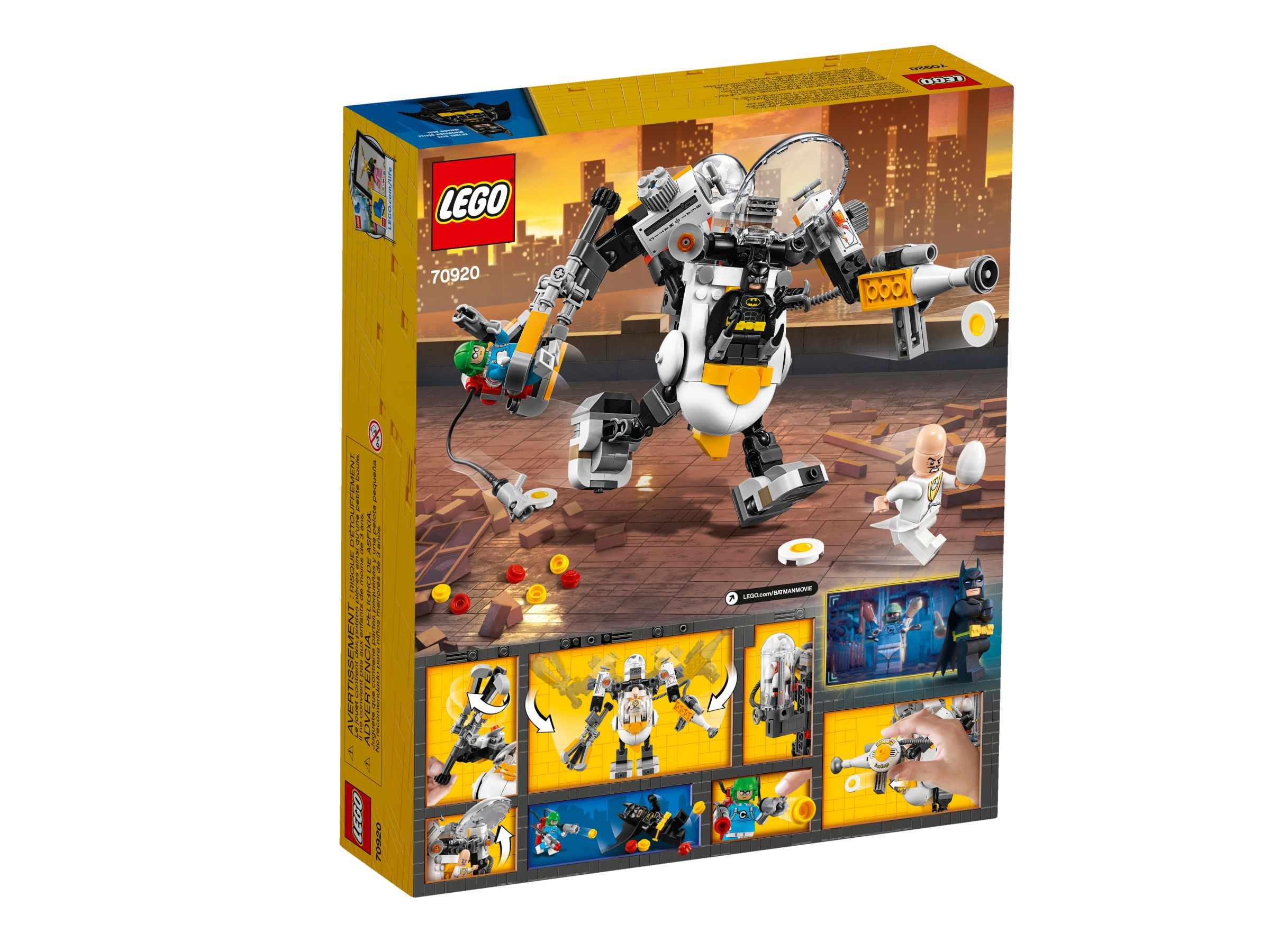LEGO The LEGO Batman Movie 70920 Egghead bei der Roboter-Essenschlacht LEGO_70920_alt2.jpg