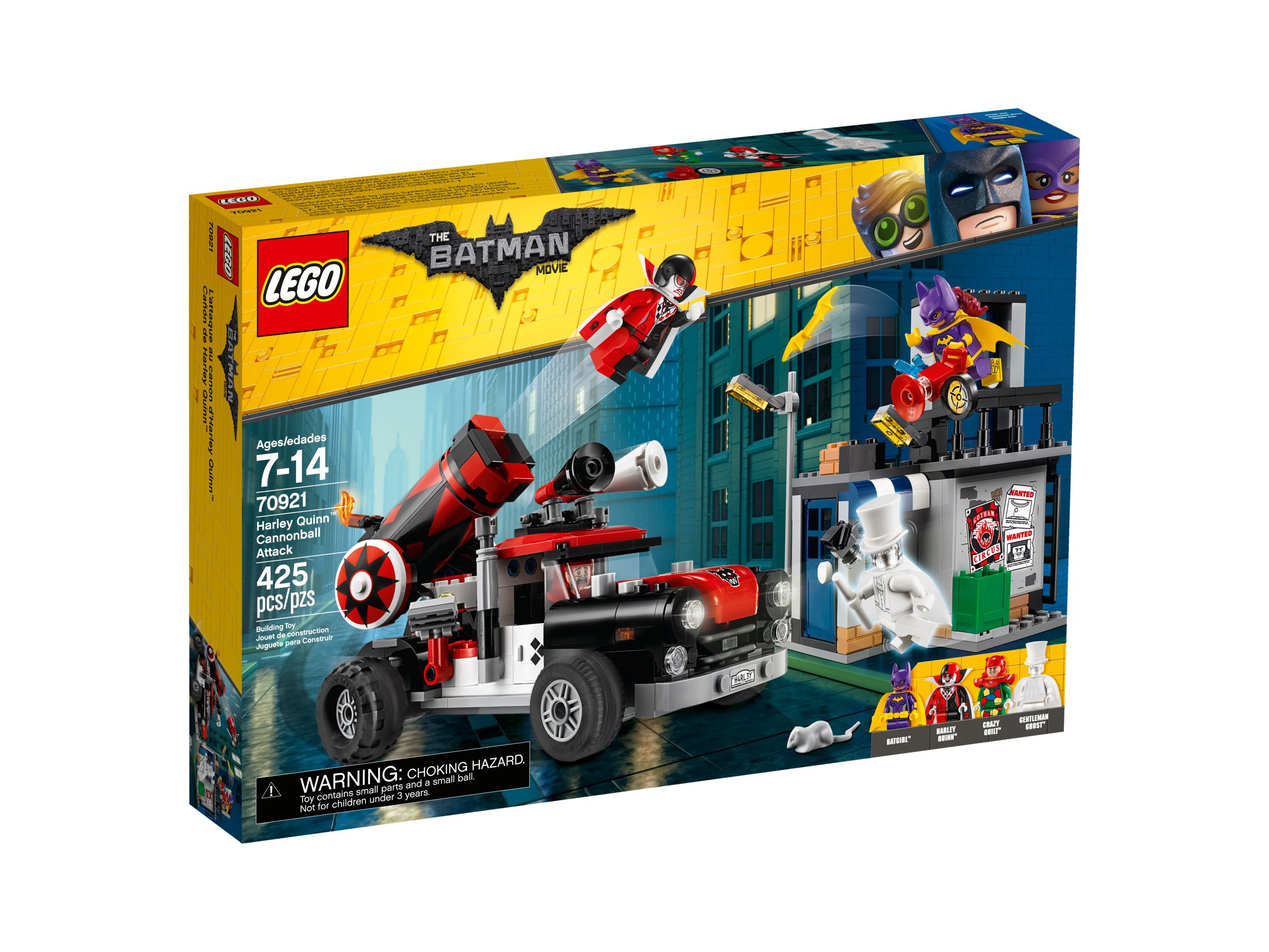 LEGO The LEGO Batman Movie 70921 Harley Quinn Kanonenkugelattacke LEGO_70921_alt1.jpg