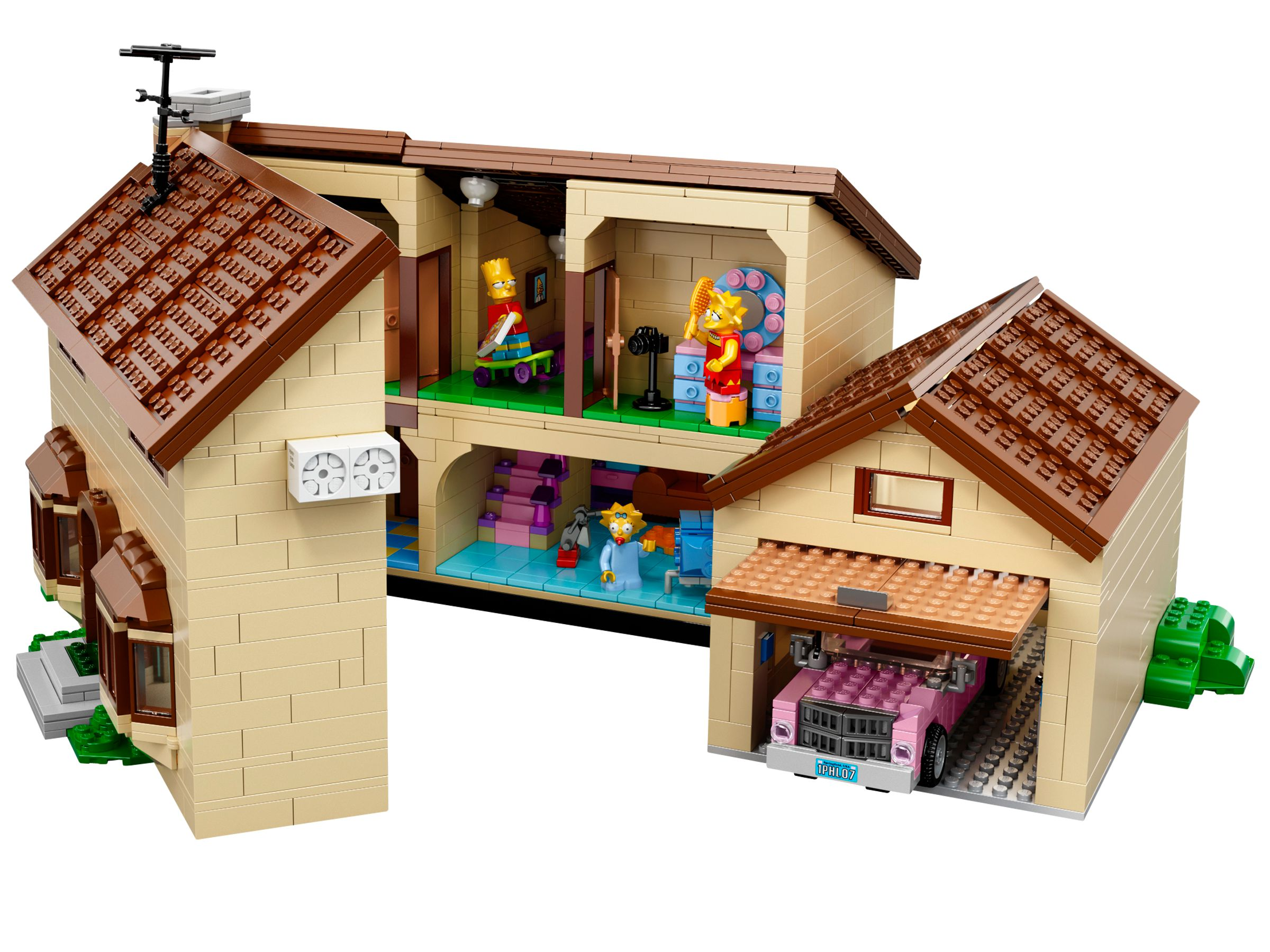 lego 71006 das simpsons haus the simpsons 2014 the simpsons house brickmerge. Black Bedroom Furniture Sets. Home Design Ideas