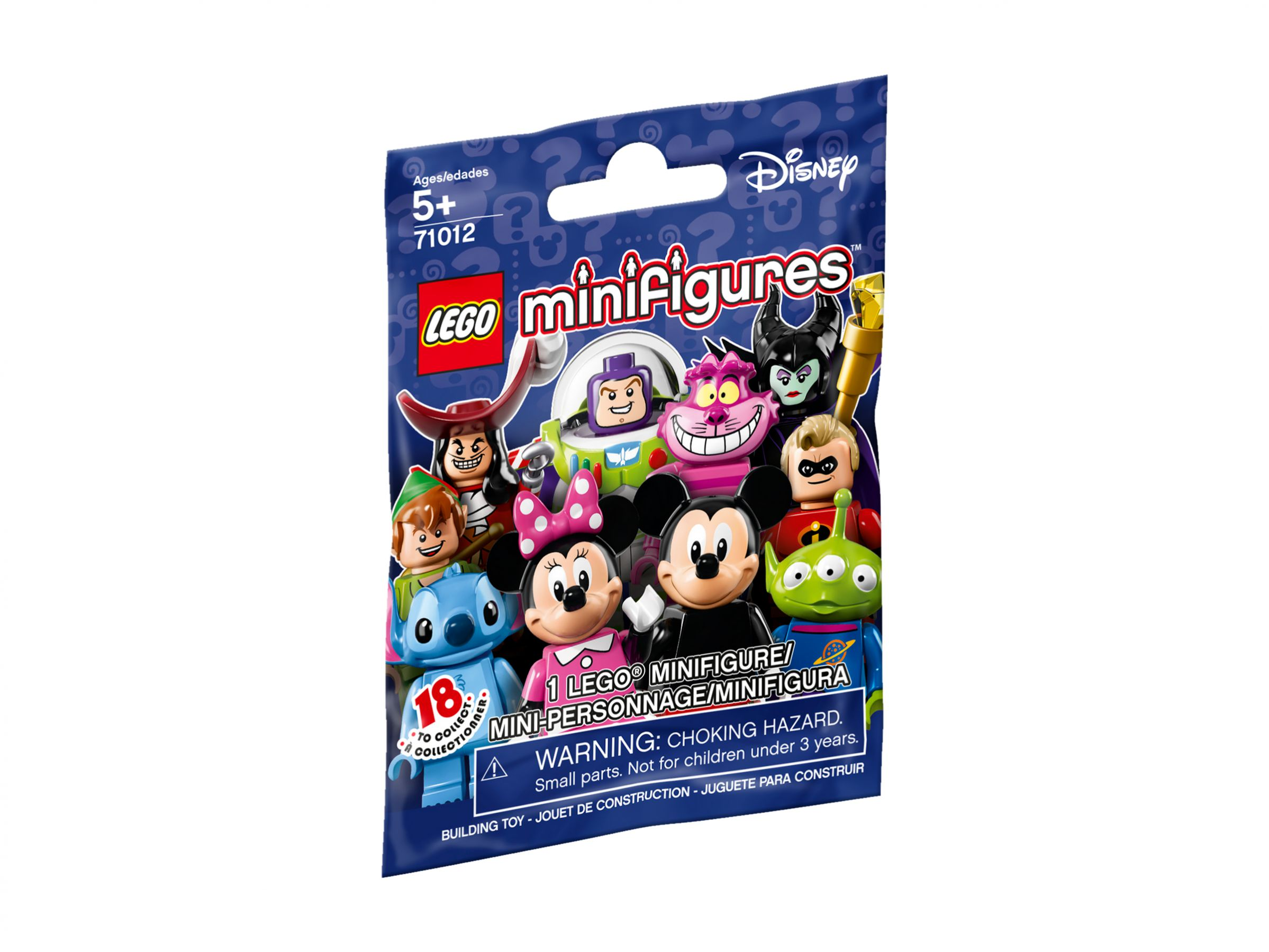 LEGO Collectable Minifigures 71012 LEGO® Minifiguren Disney Serie