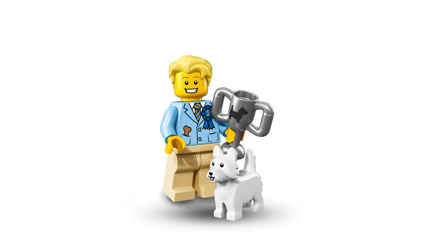 LEGO Collectable Minifigures 71013 LEGO® Minifiguren Serie 16 60er Box LEGO_71013-Dog_Show_Winner.jpg