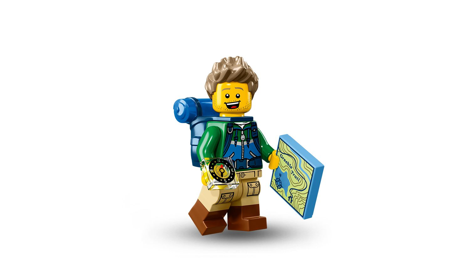 LEGO Collectable Minifigures 71013 LEGO® Minifiguren Serie 16 60er Box LEGO_71013-Hiker.jpg
